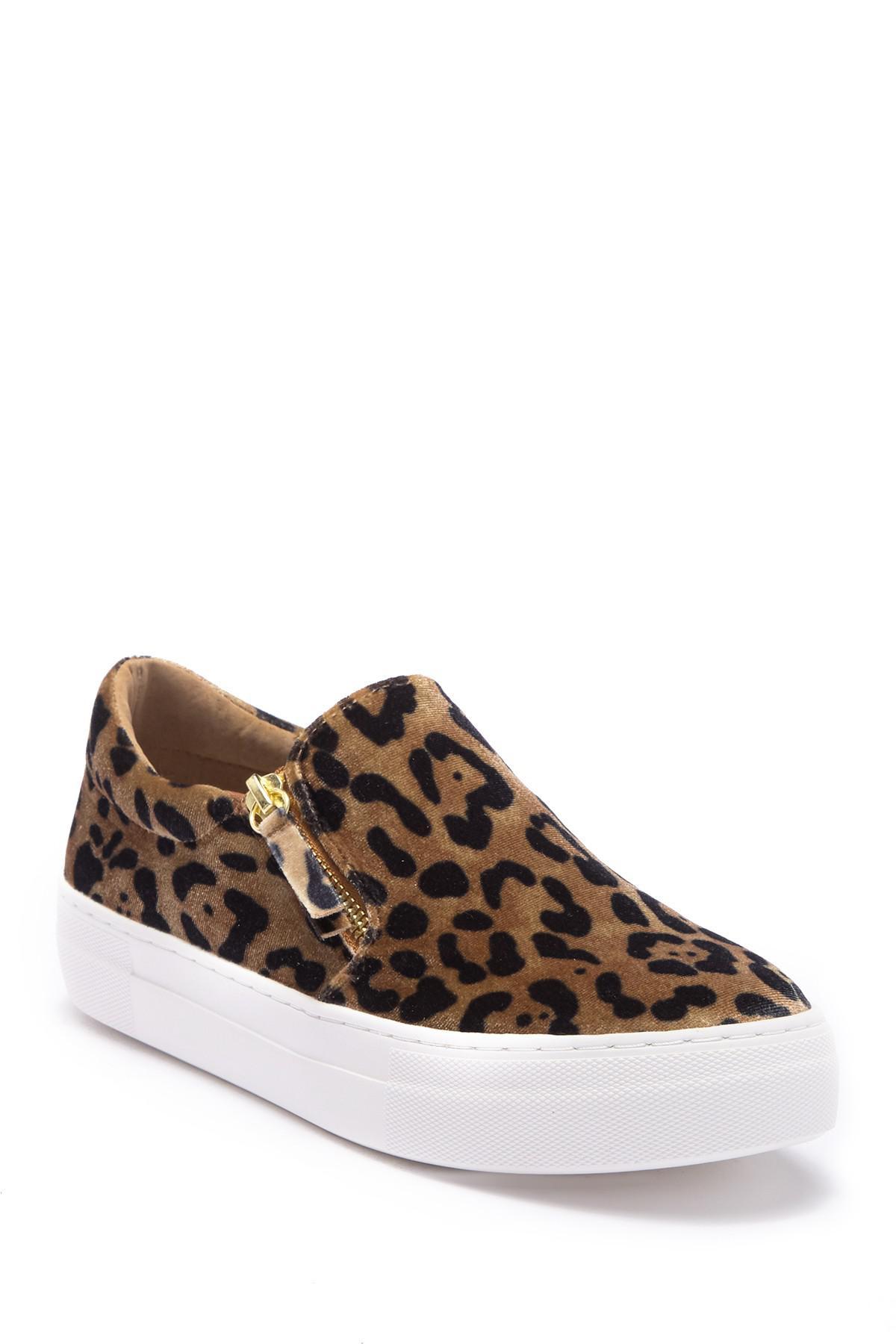881f349e77b Lyst - Steve Madden Glaammar Zip Embossed Sneaker in Brown