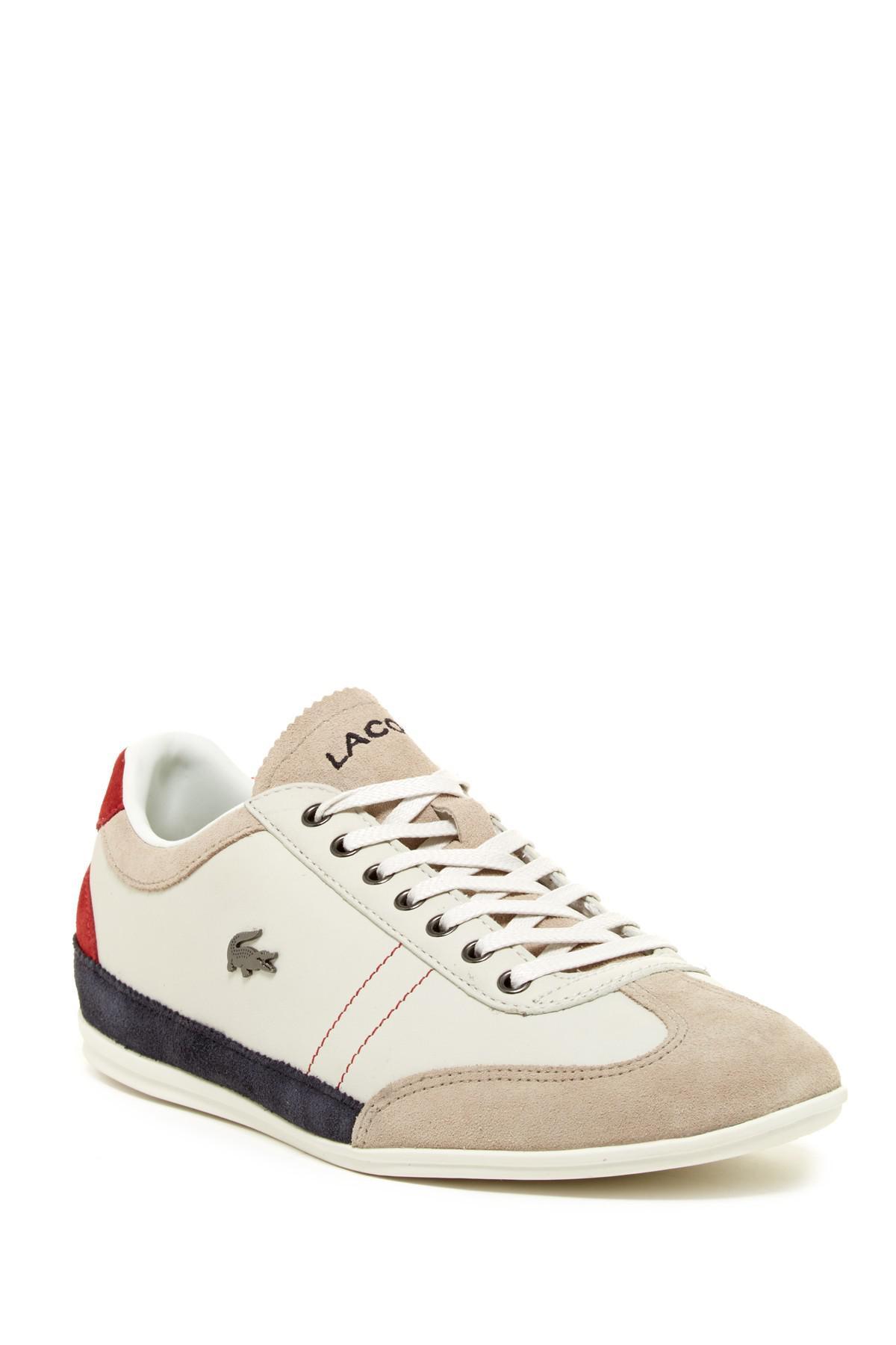 ac7688488 Lyst - Lacoste Misano 15 Lcr Sneaker for Men