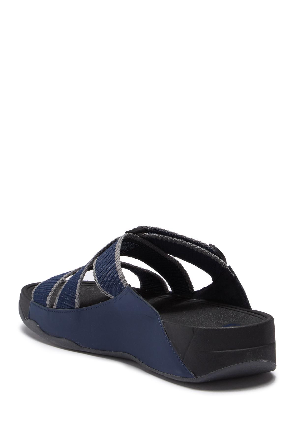 9bca87f19c60 Lyst - Fitflop Sling Ii Slide Sandal in Blue for Men