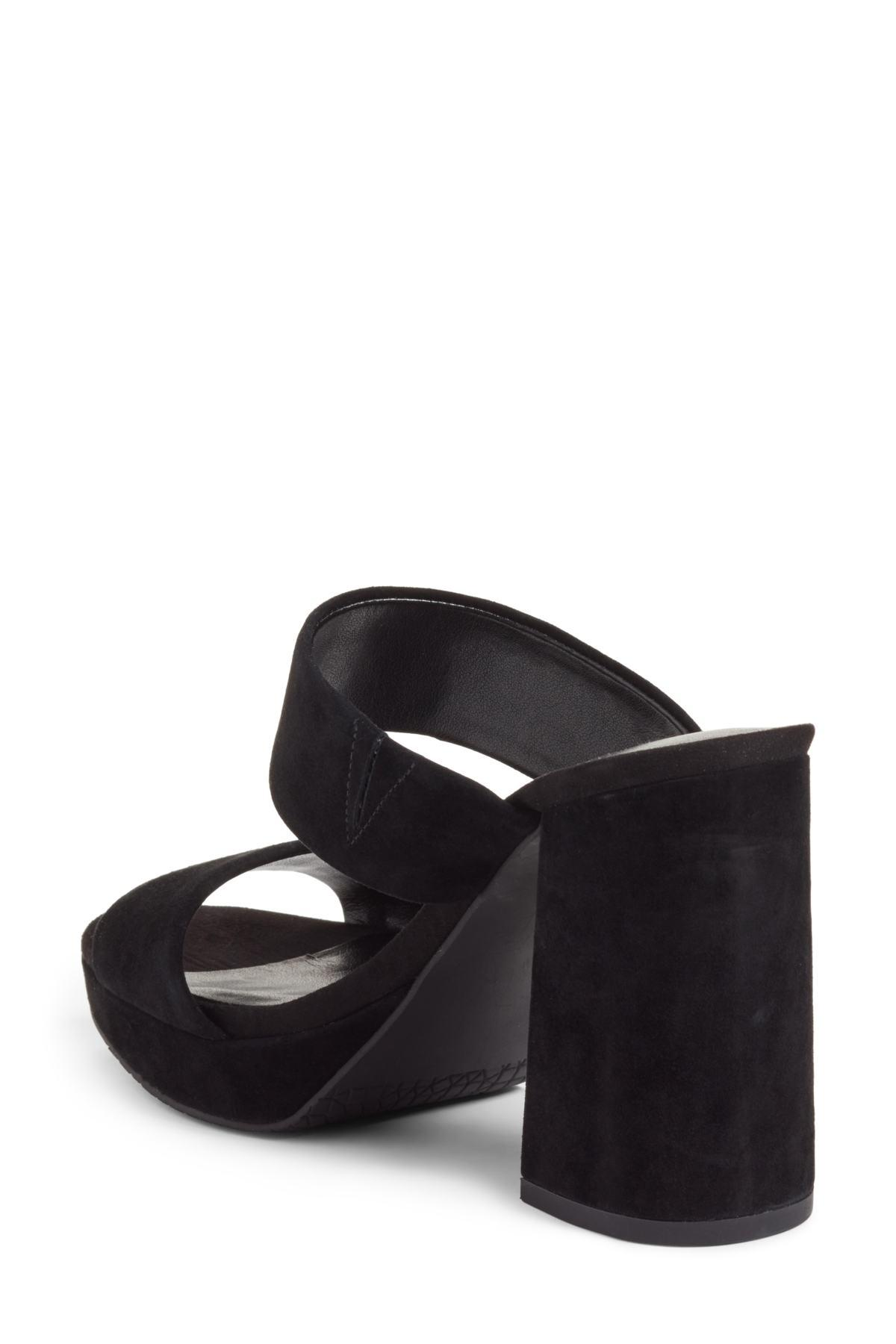 36153ced1389 Lyst - BP. Sophia Platform Sandal in Black