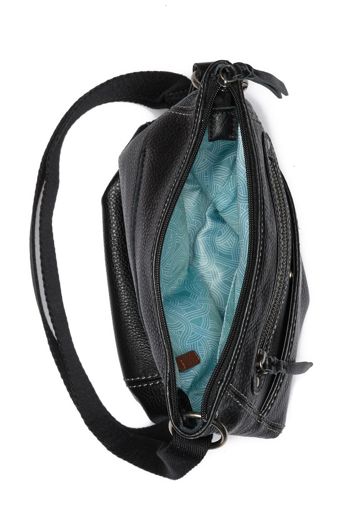 e7dcbe980 Lyst - The Sak Morena Leather Crossbody Bag in Black