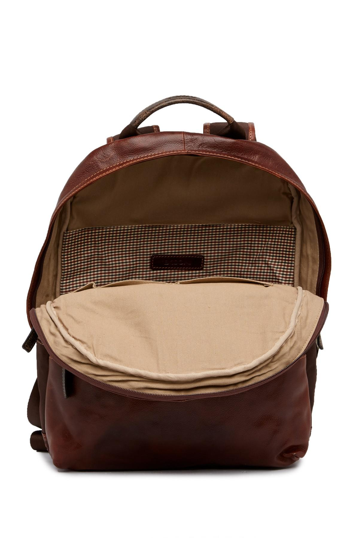 f1023eb5a7 Lyst - Boconi Slim Profile Backpack in Brown for Men