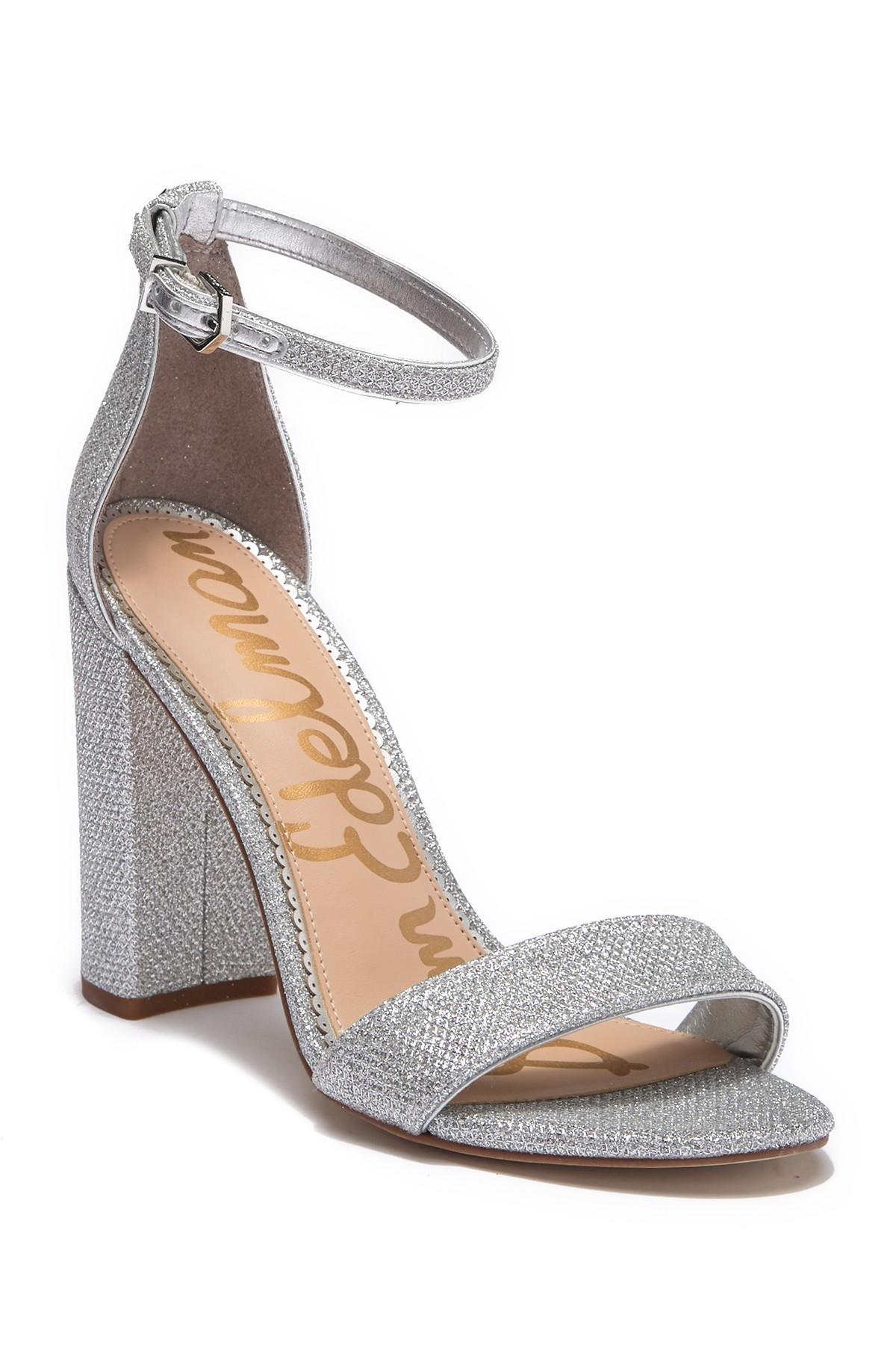 a42b45084 Lyst - Sam Edelman Yaro Ankle Strap Sandal (women) in Metallic ...