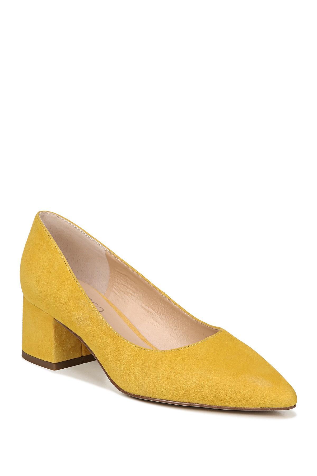 b7f1bfe9246 Franco Sarto. Women s Callan Suede Block Heel Pump