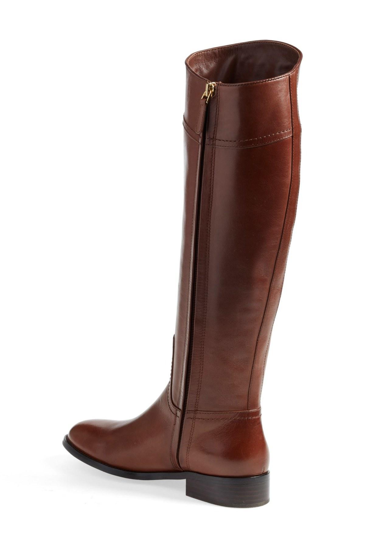 84a9336bd8e4 Lyst - Tory Burch Ashlynn Riding Boot in Brown