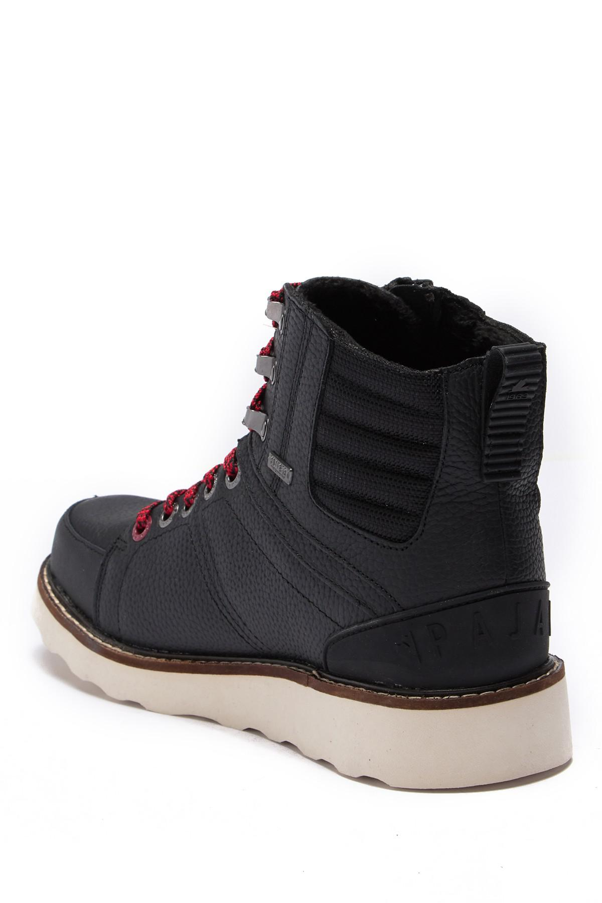 d9b91294e32 Pajar - Black Reigh Leather   Faux Wool Hi-top Boot for Men - Lyst. View  fullscreen
