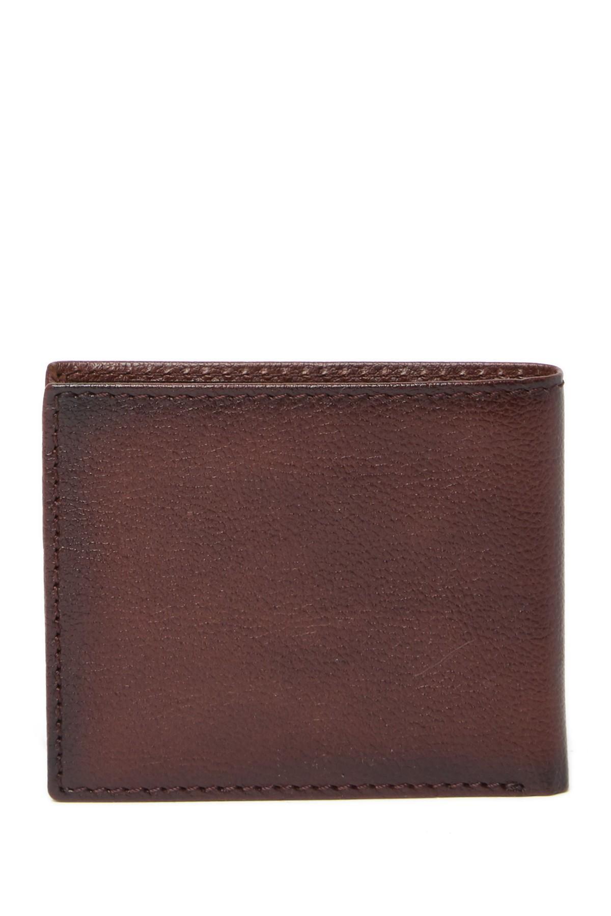 d0823156f Boconi - Brown Stills Leather Billfold Wallet for Men - Lyst. View  fullscreen