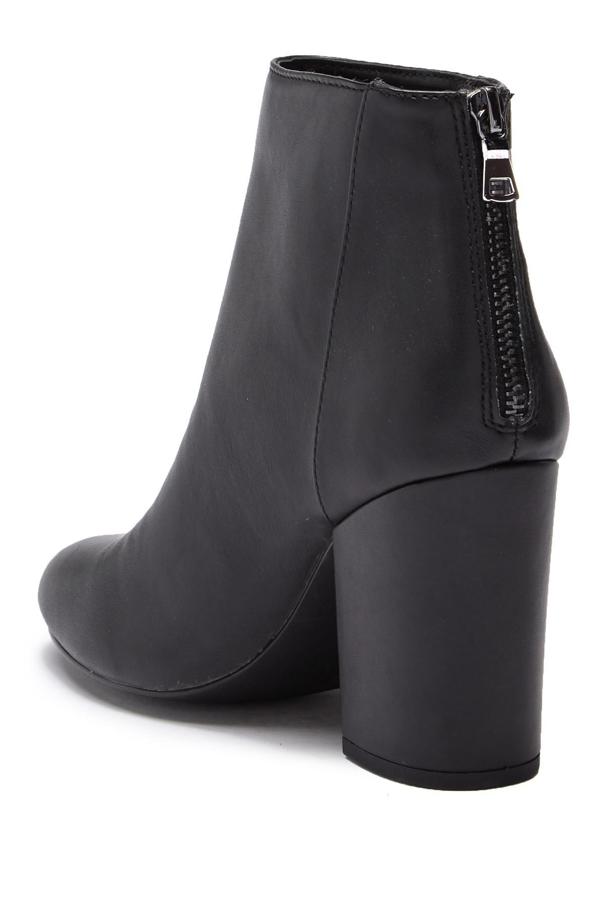 e083b5cdc064 Lyst - Steve Madden Shade Block Heel Boot in Black
