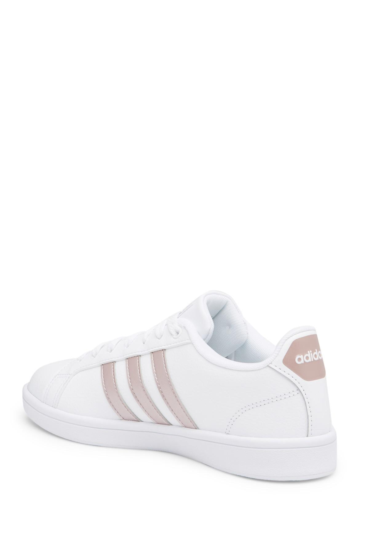 7ba52c814 Adidas - White Cloudfoam Advantage Sneaker - Lyst. View fullscreen