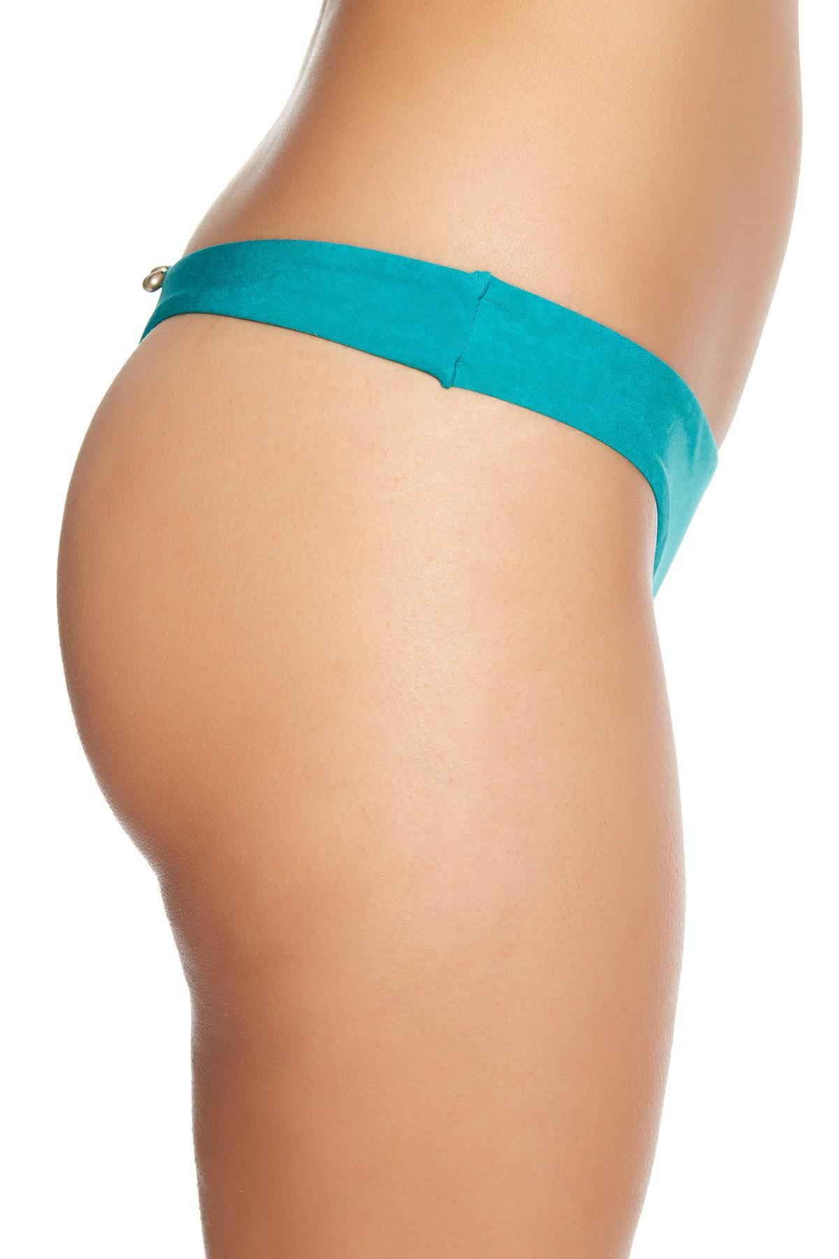 fa59b0bcf8f Lyst - Mia Marcelle California Thong Bikini Bottom in Blue