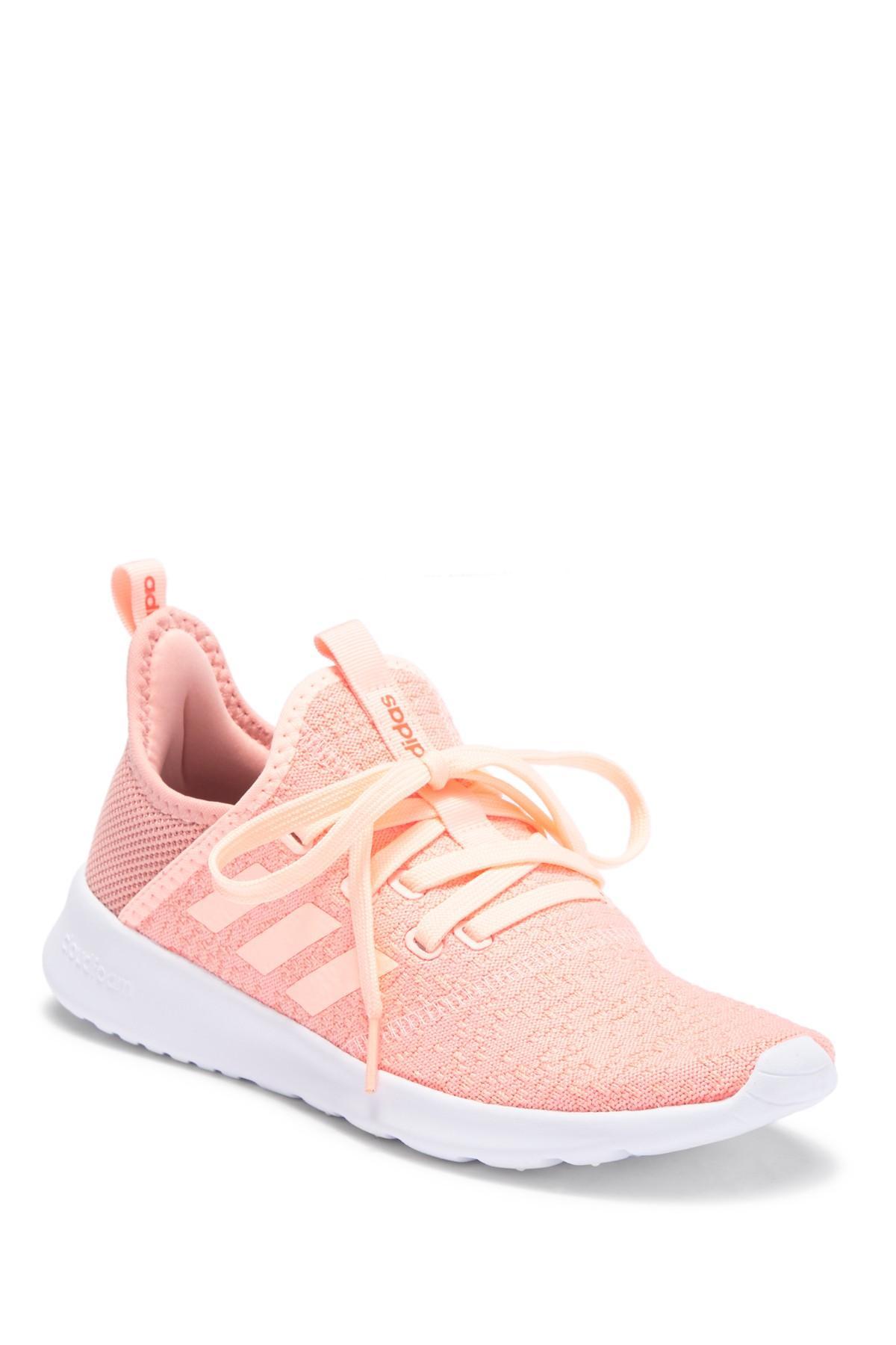 e78d91c8f846ae Lyst - adidas Cloudfoam Pure Sneaker in Pink