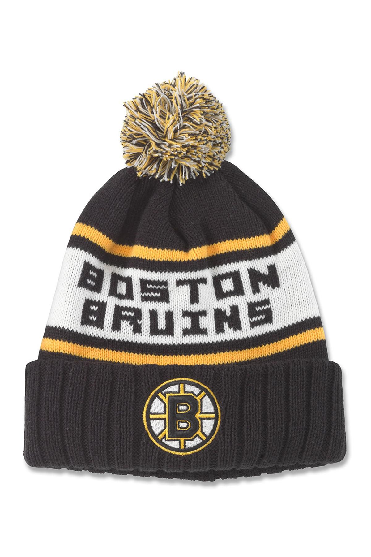 eacc74718ab5a9 Lyst - American Needle Nhl Boston Bruins Pillow Line Knit Beanie in ...