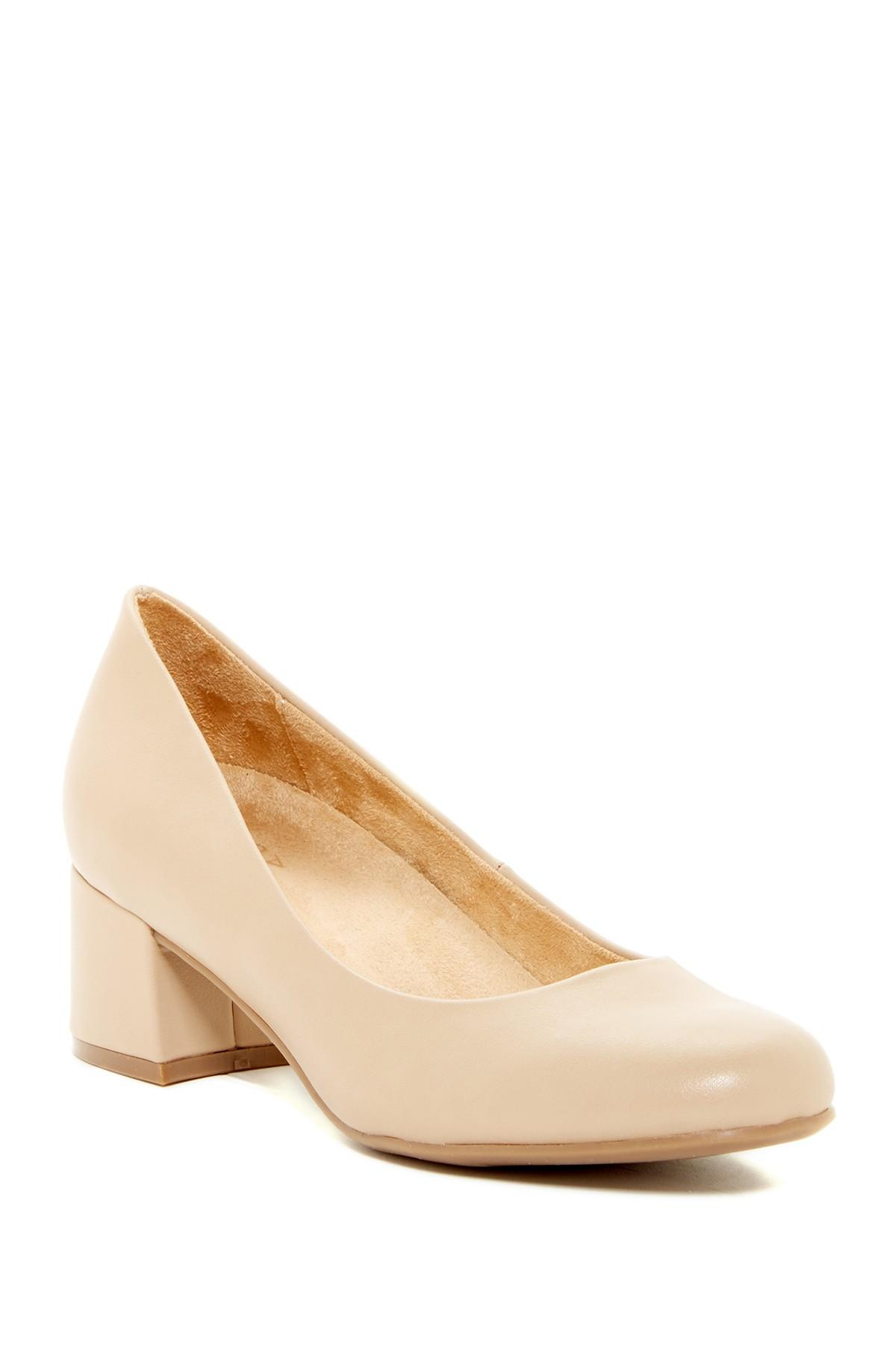 576ee8ba5e68 Lyst - Naturalizer Donelle Dress Pump - Wide Width Available in Natural