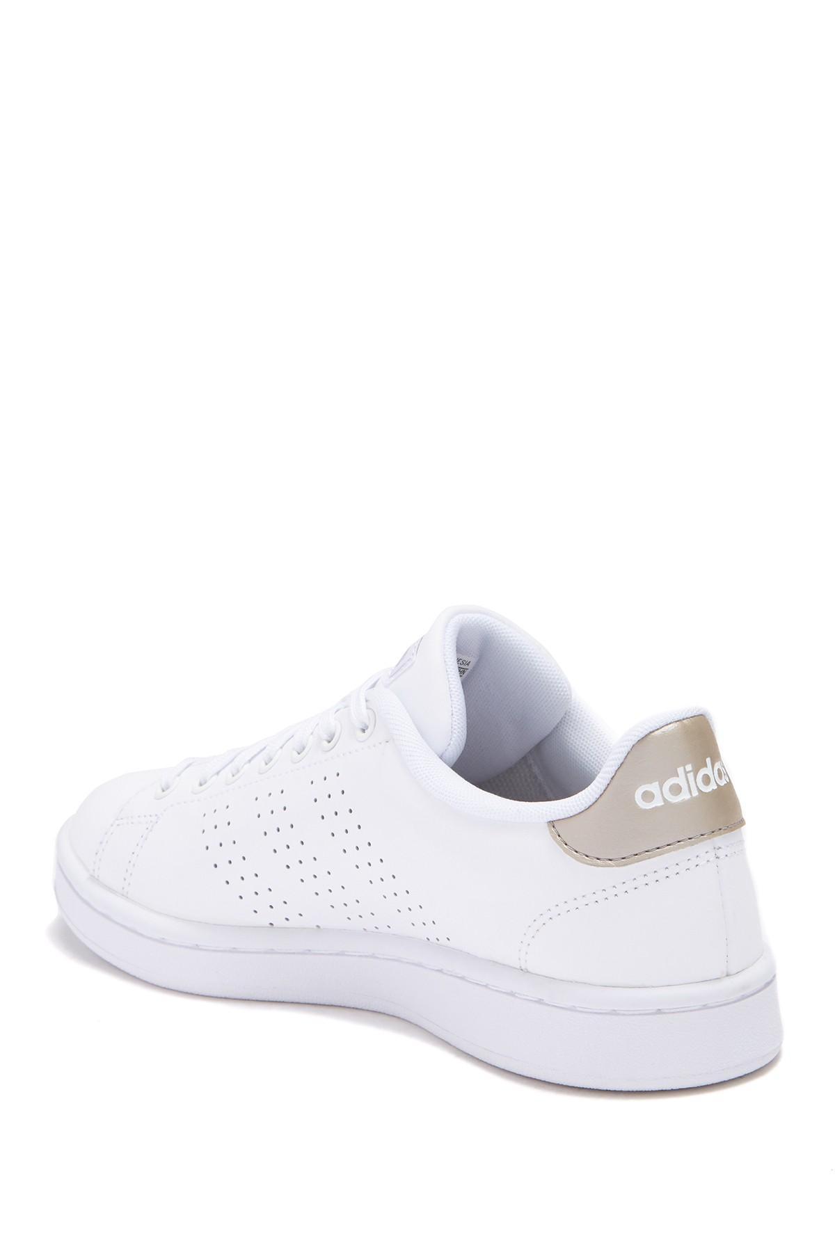 f2e298864 Lyst - adidas Advantage Lace-up Sneaker in White
