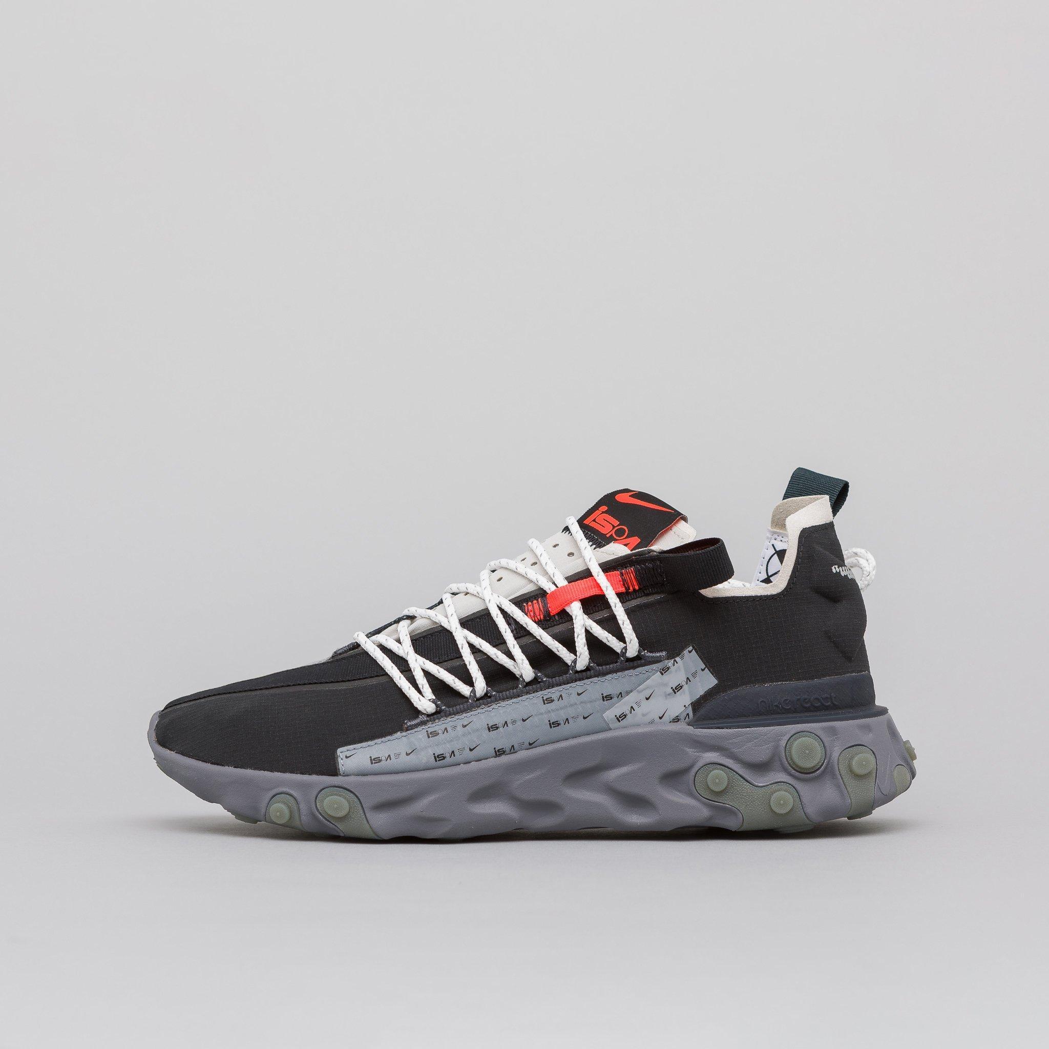 Nike Lace Sneakers Uomo React Wr Ispa Ar8555.200 in Metallic