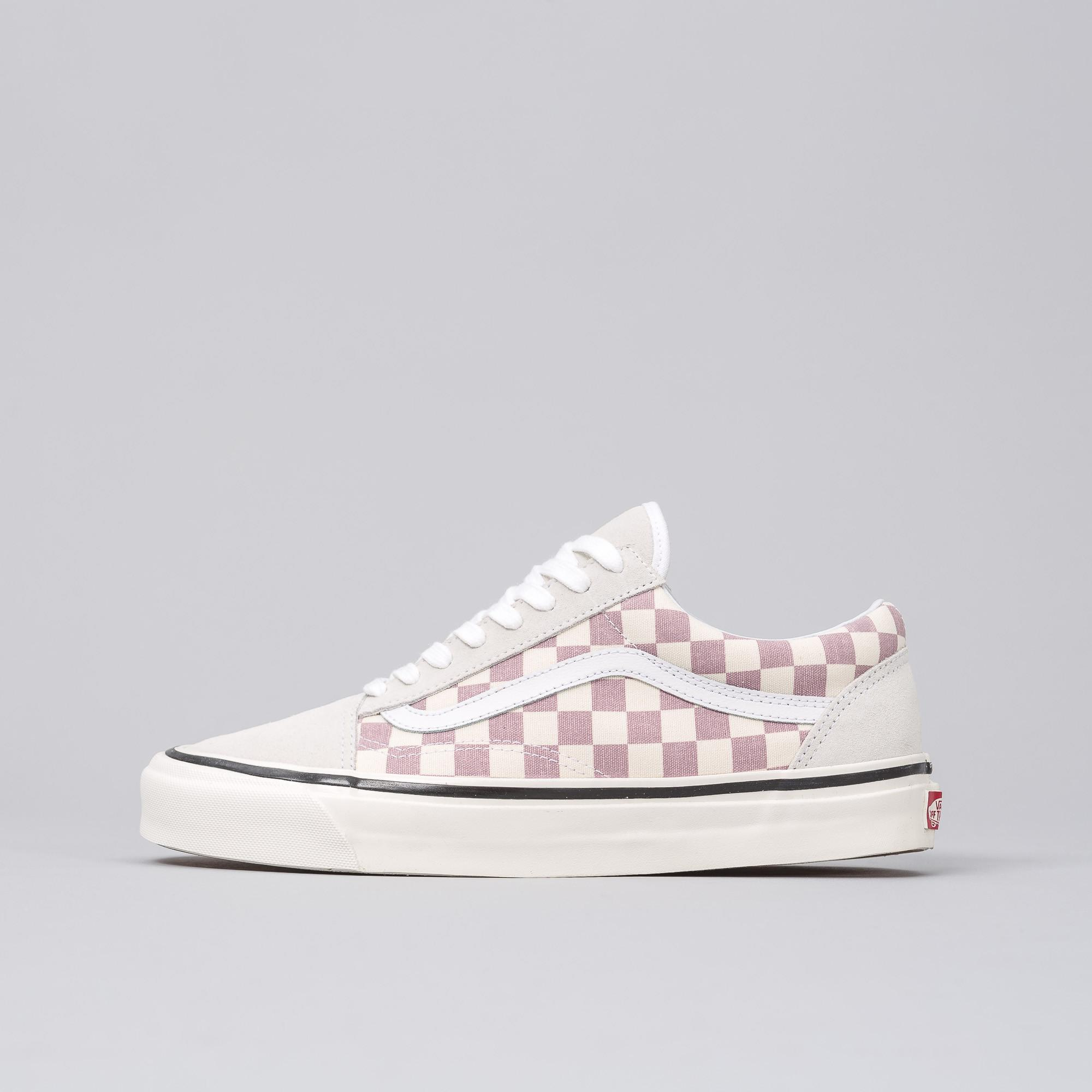 b9b637fcf56 Lyst - Vans Old Skool 36 Dx Anaheim Factory In Purple Checkerboard ...