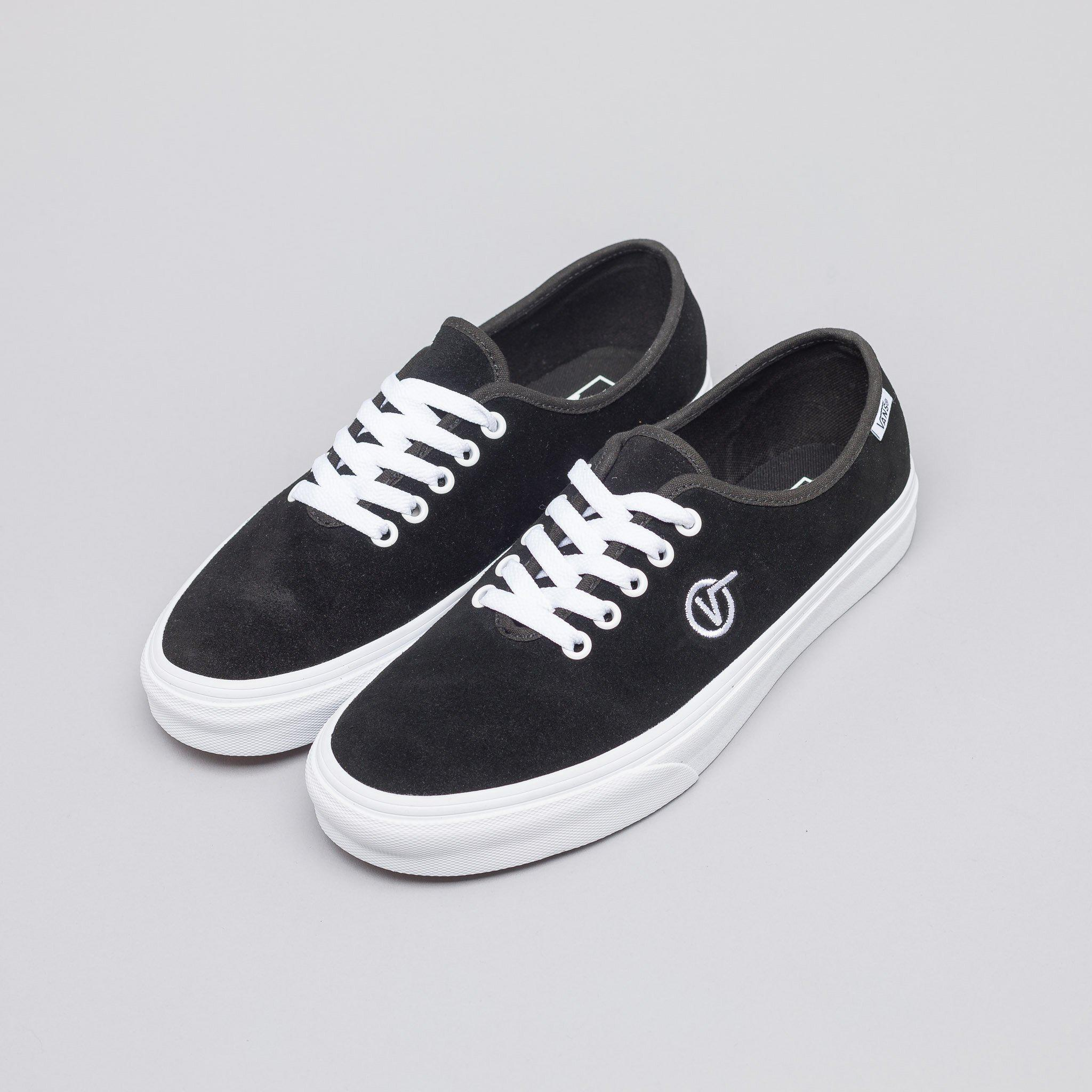 96f4cb68e37ab9 Lyst - Vans Authentic One Piece Circle V in Black for Men