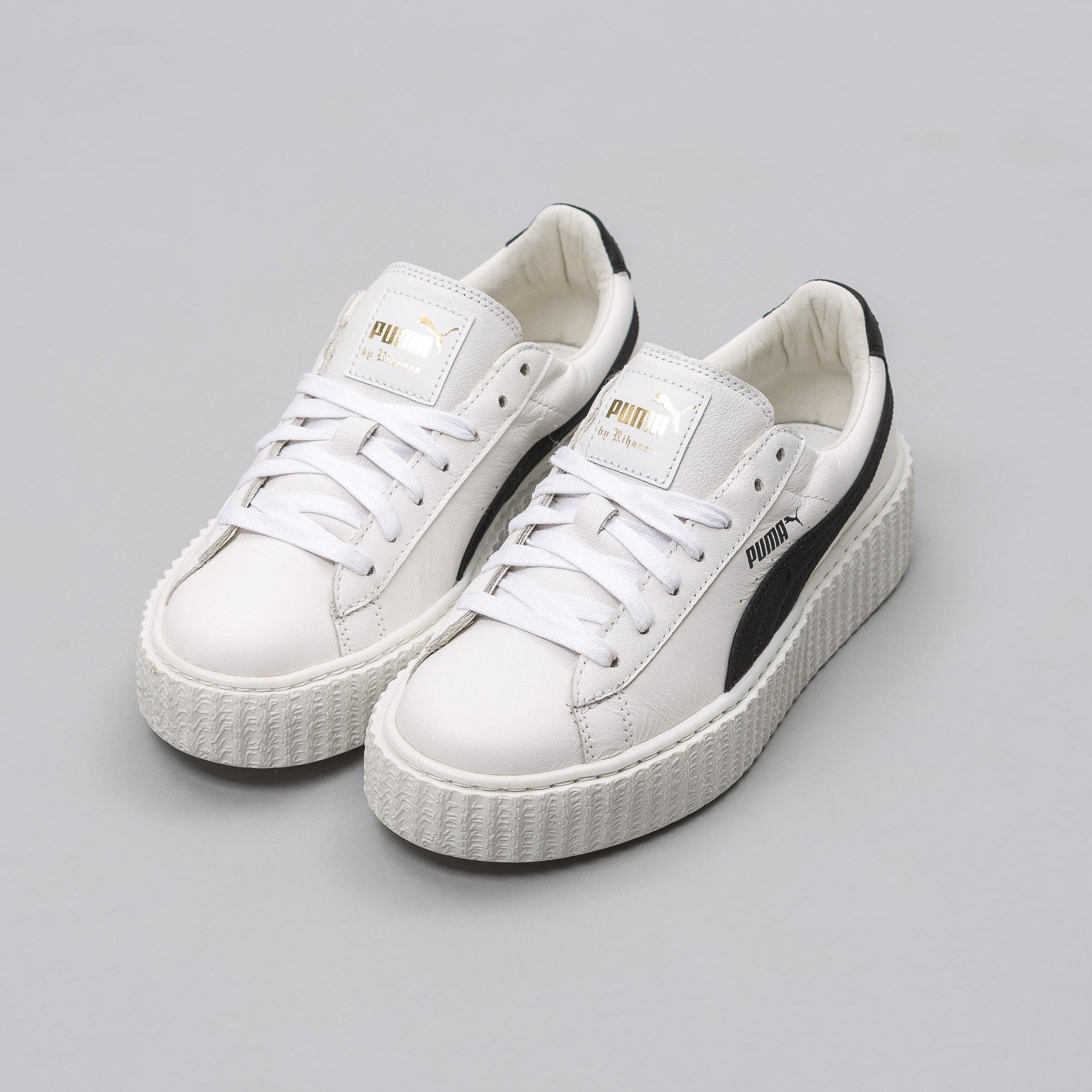 purchase cheap 4013d 72bab Lyst - Puma Fenty Creeper In White/black (womens) in White ...