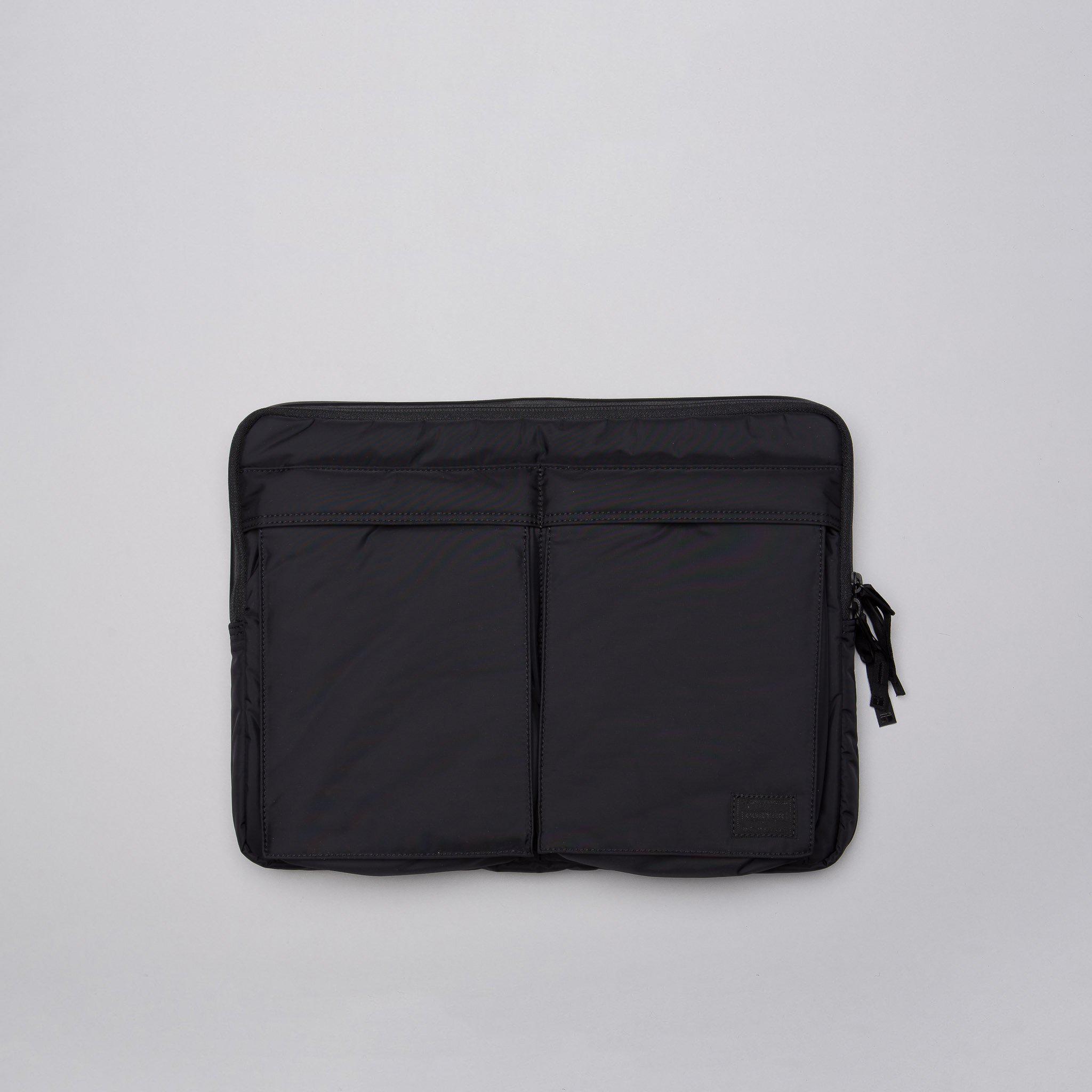 Lyst - Head Porter Black Beauty Business Document Bag In Black in ... 23b55a711a750
