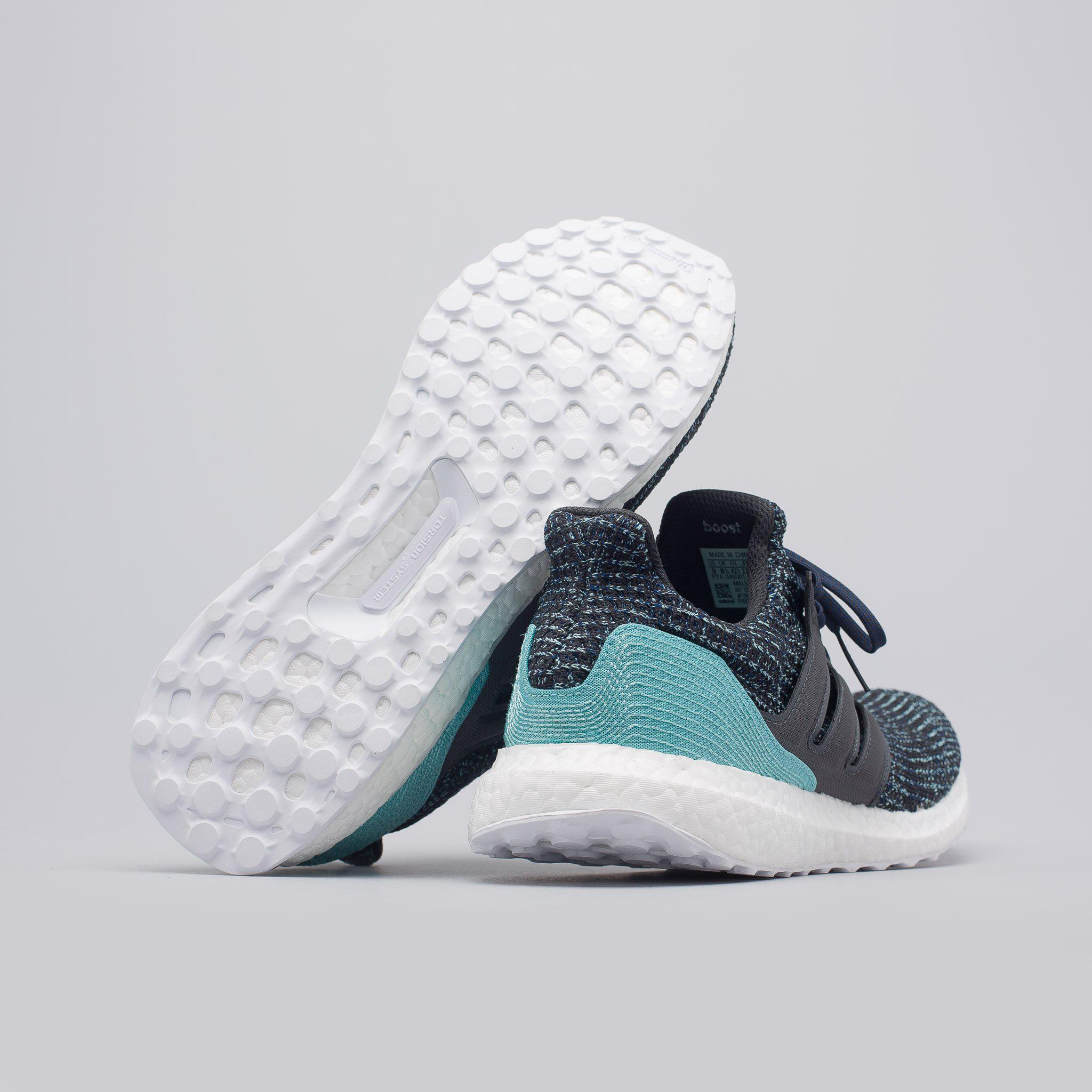 meet fedca a2ae1 Mens Adidas ... online retailer d54e2 5a0d1 Gallery. Mens Adidas ...  official photos c5018 9844f Ultraboost Laceless Parley Shoes Raw Grey  Carbon Blue ...