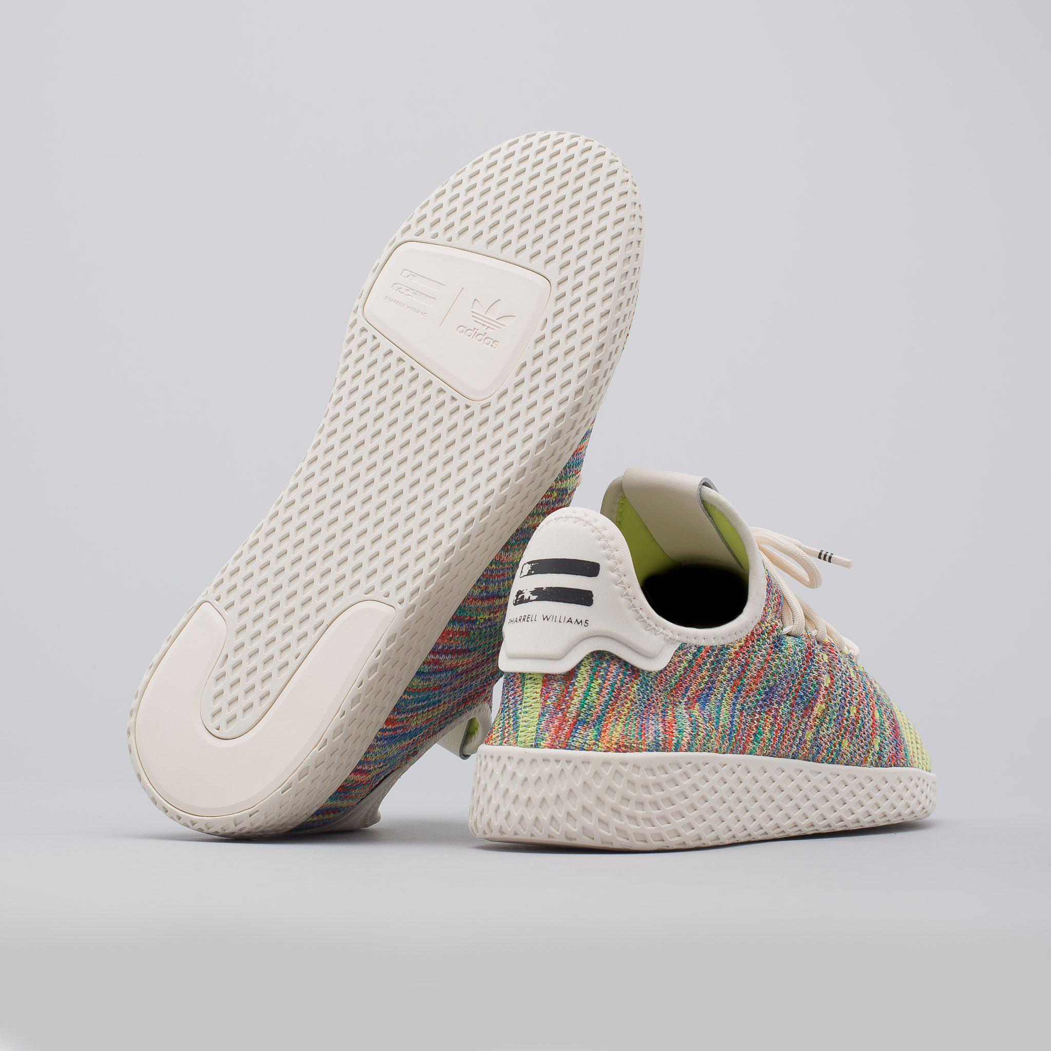 a6737c273 Lyst - adidas X Pharrell Williams Tennis Hu Primeknit In Multi for Men