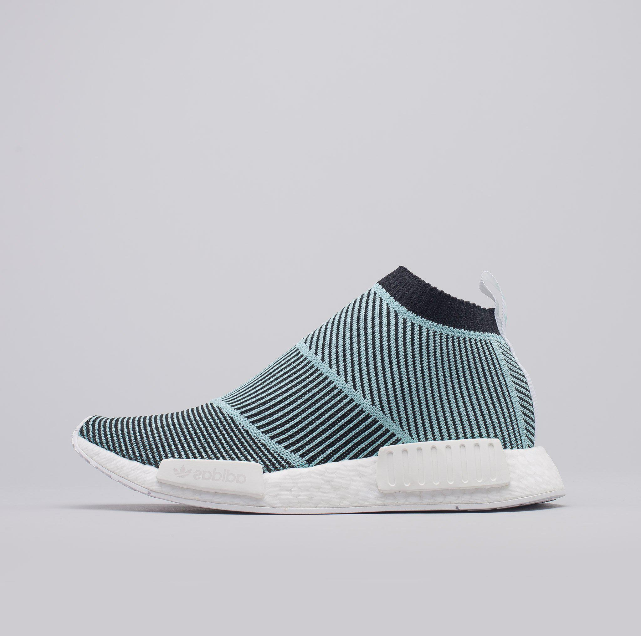 Lyst - adidas Nmd Cs1 Parley Primeknit In Core Black blue in Blue ... a0a74fb20