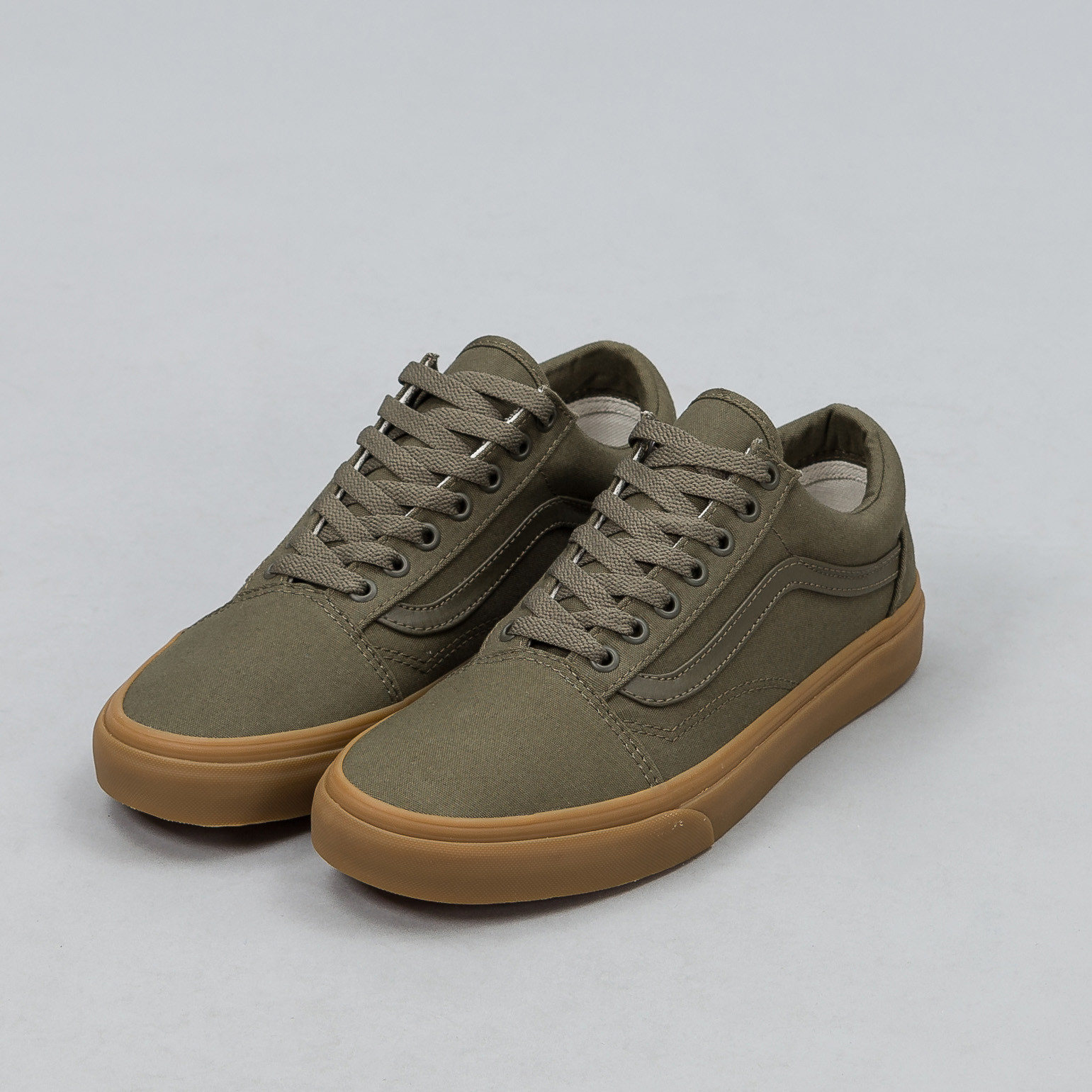 3a6c75b5bd4 Lyst - Vans Canvas Gum Old Skool In Ivy Green for Men