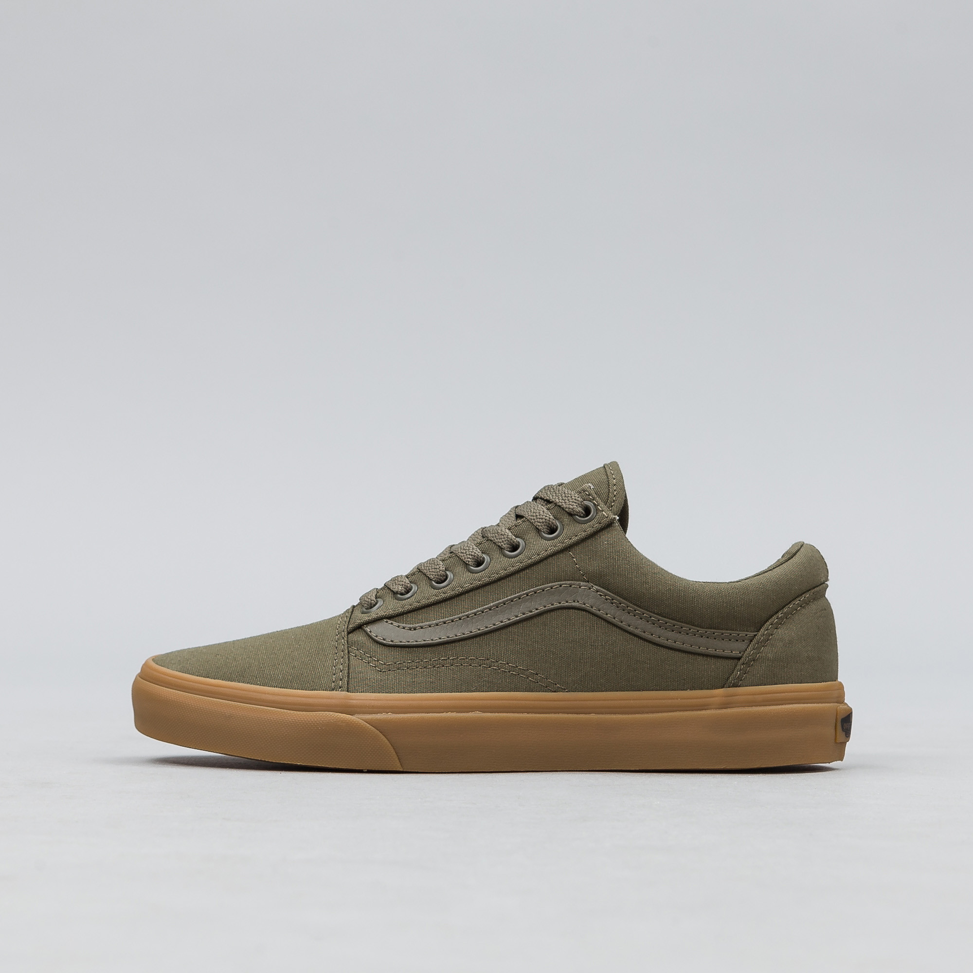 6a2c8179177f73 Lyst - Vans Canvas Gum Old Skool In Ivy Green for Men