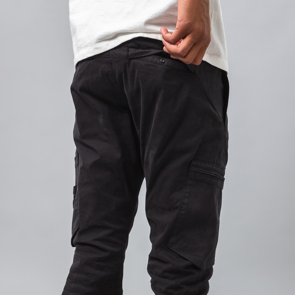 Lyst - Stone Island 31006 Cotton Cargo Pants in Black for Men