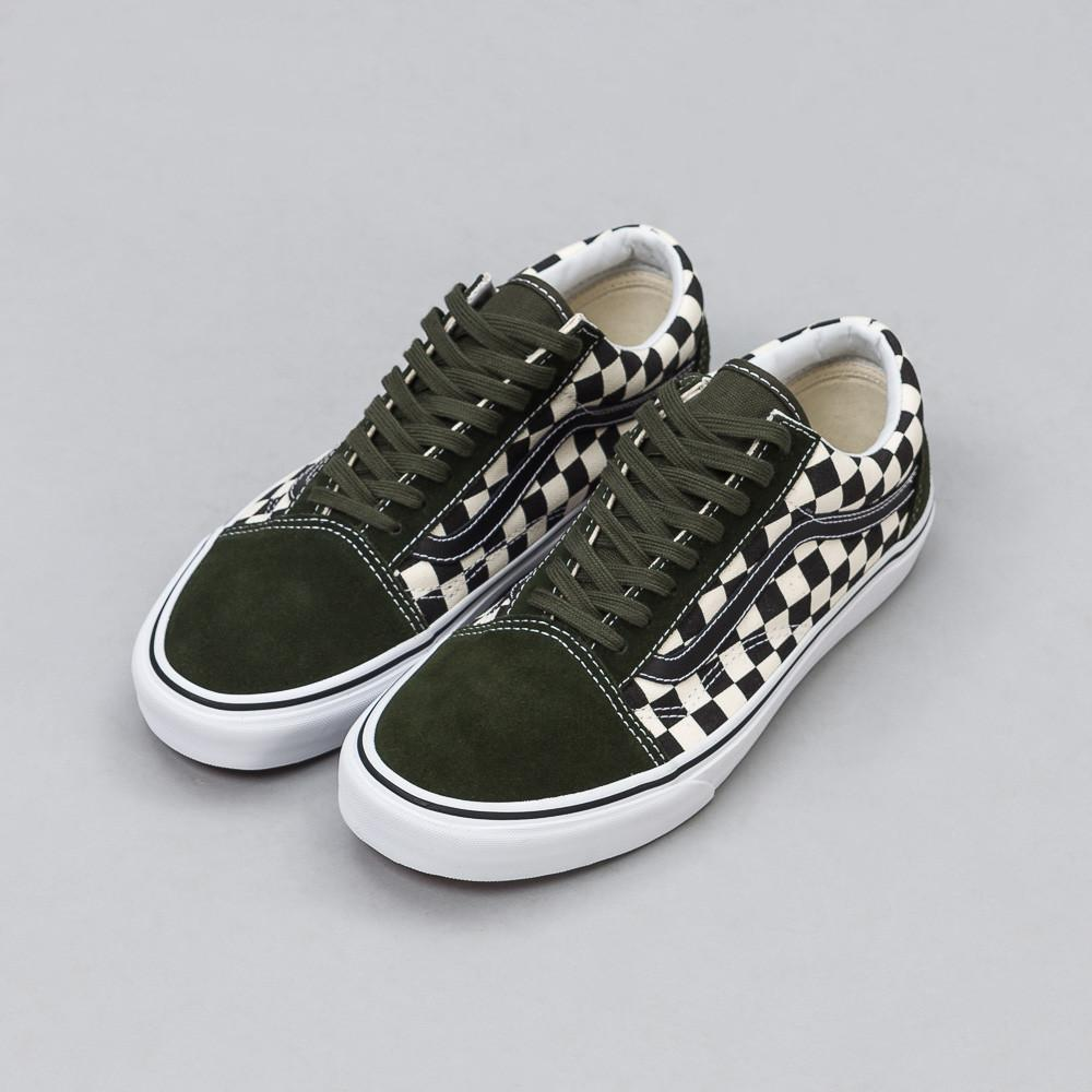 ca5046239a7 Lyst - Vans 50th Anniversary Old Skool In Checkerboard green for Men