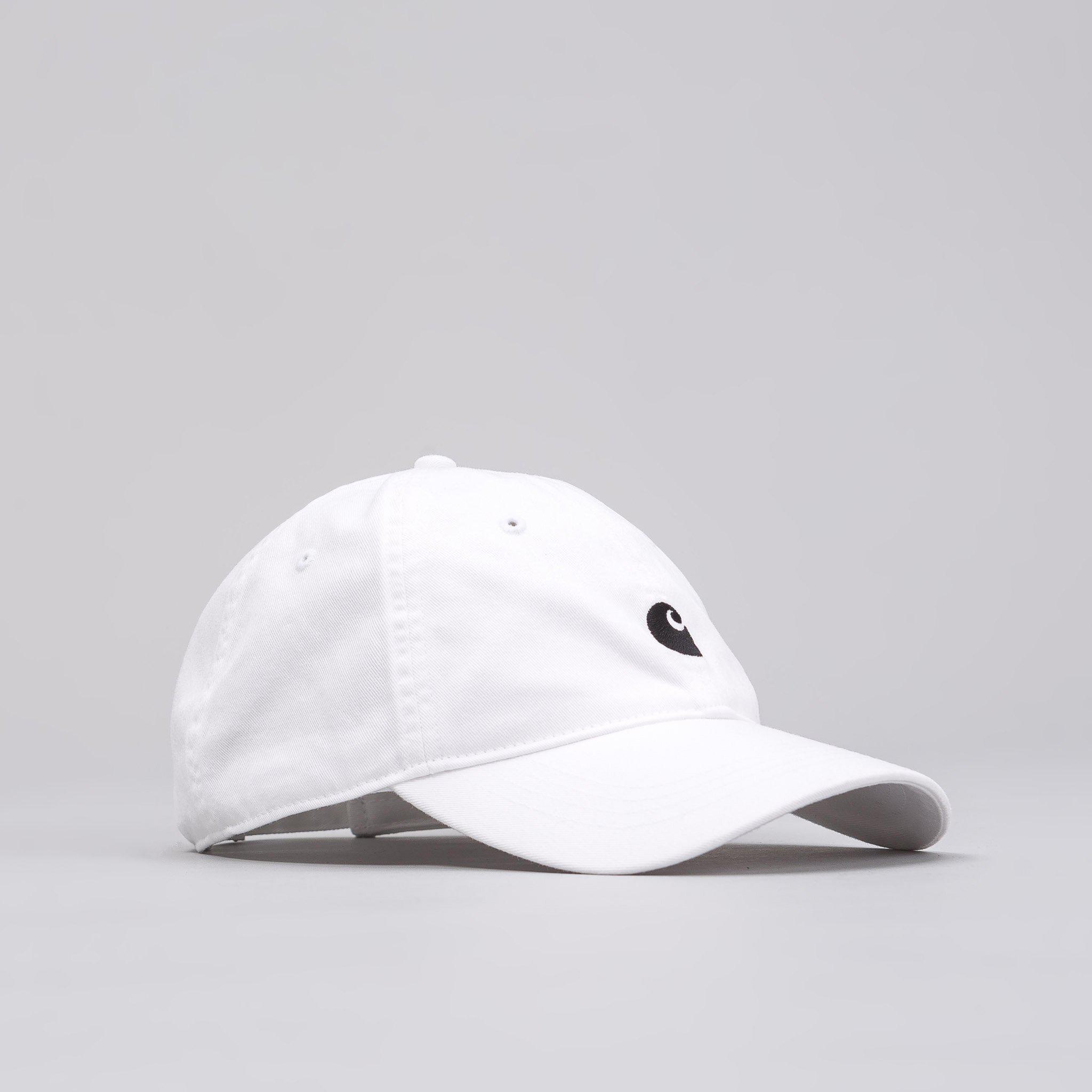 Lyst - Carhartt WIP Major Cap In White black in White for Men a6dd2acb6b60