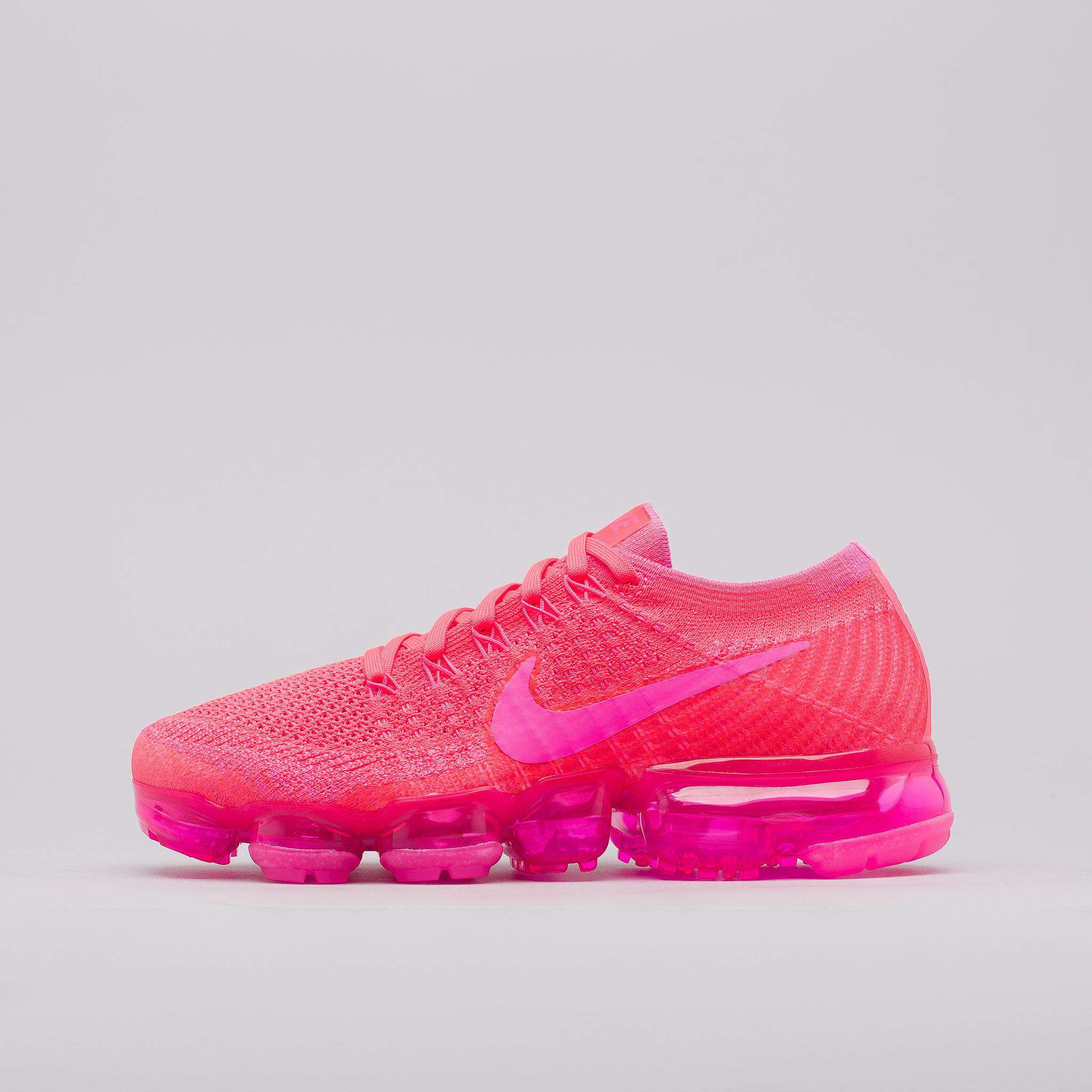 4dbebee31b4 Lyst - Nike Women s Air Vapormax Flyknit In Hyper Punch in Pink for Men