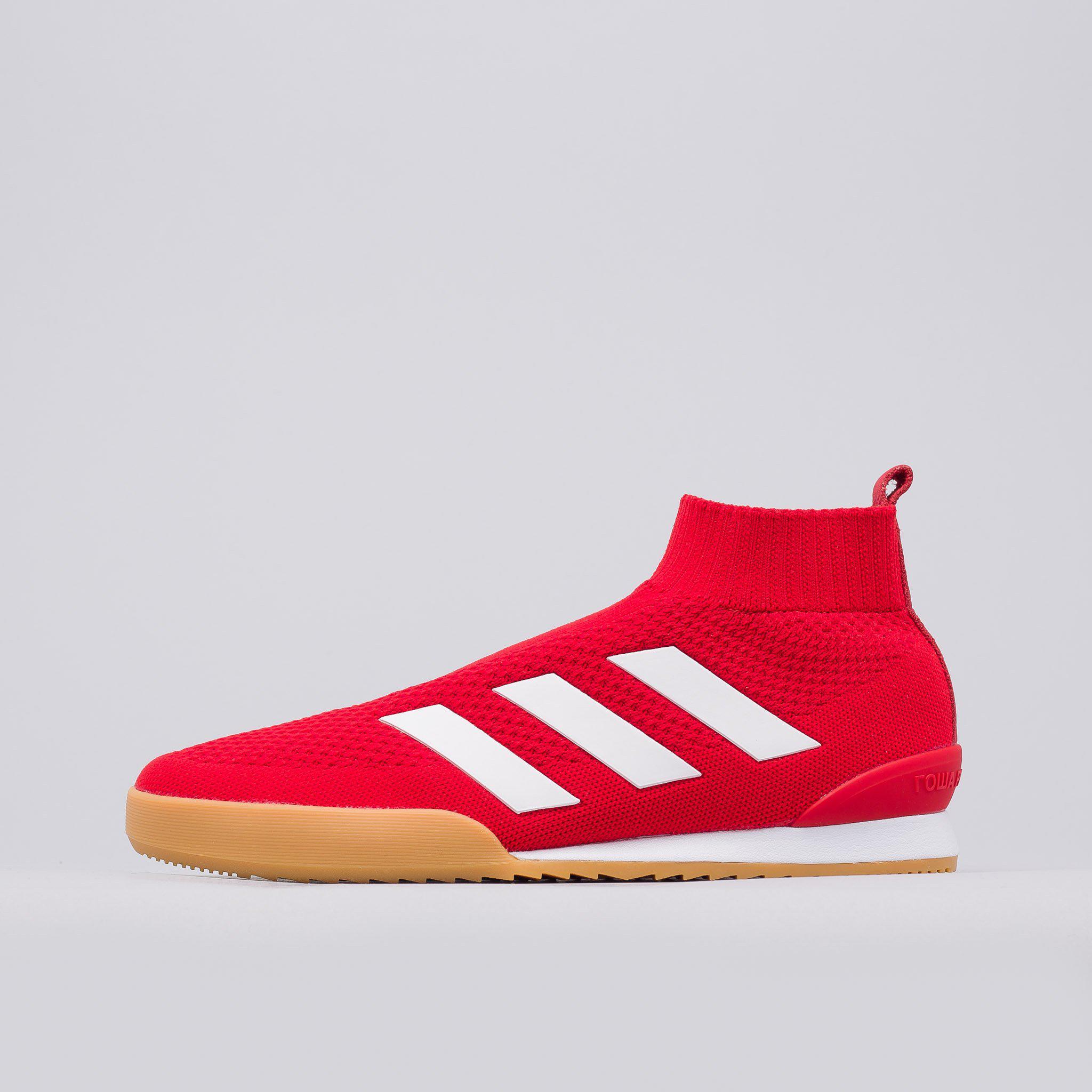 Gosha Rubchinskiy x Adidas side stripe sneakers - Red Gosha Rubchinskiy WuFd6