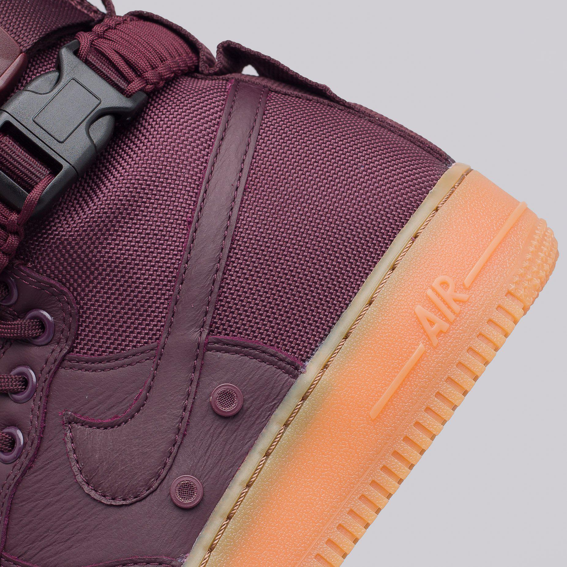Men's Purple Special Field Air Force 1 In Deep Burgundy