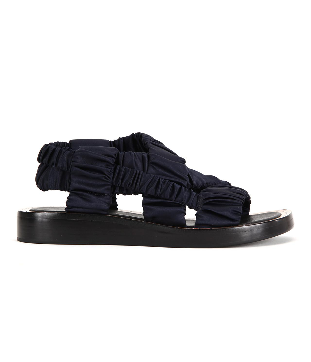 43bc023c350f 3.1 Phillip Lim Nagano Flat Rouched Sandal in Blue - Save ...