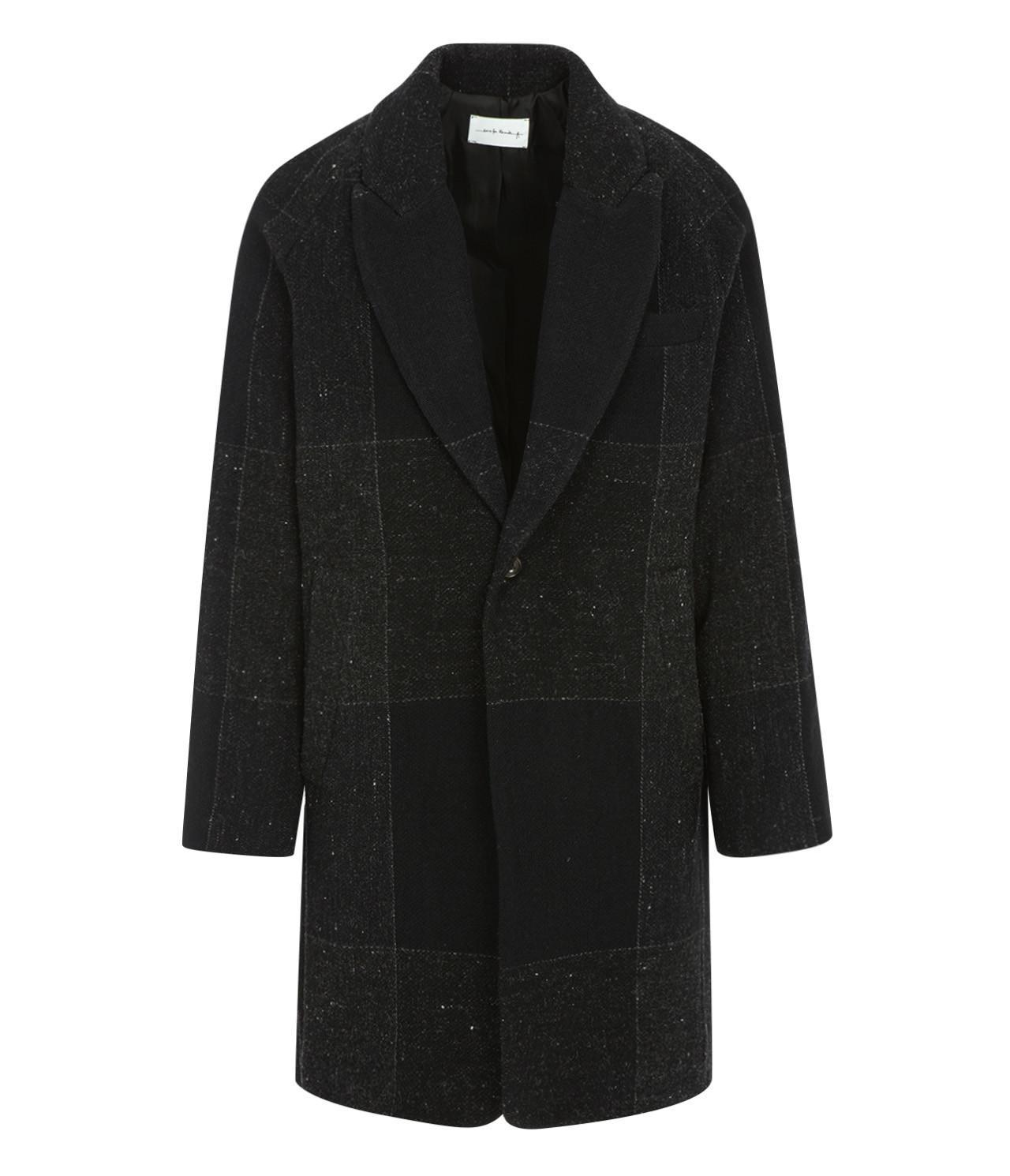 Lyst - Song for the mute Oversized Raglan Coat in Black for Men