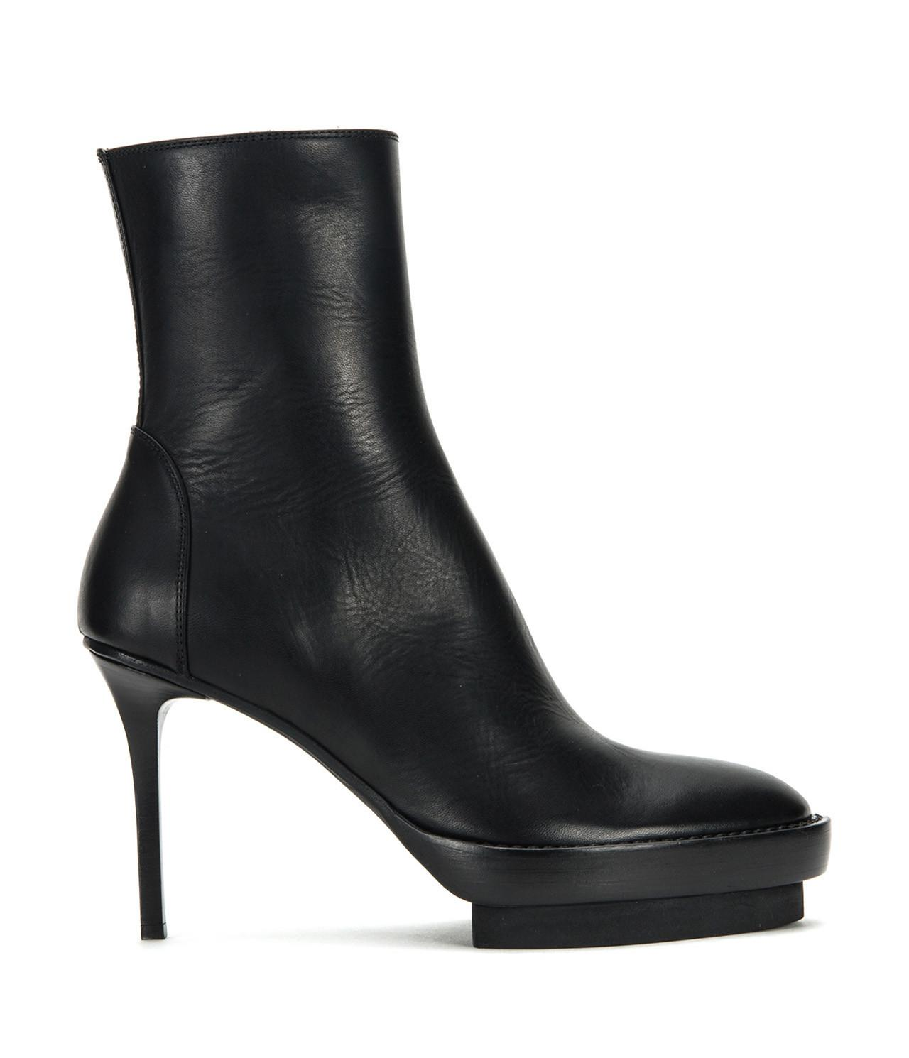 Ann Demeulemeester Suede Round-Toe Ankle Boots footlocker finishline cheap limited edition view online gk0Vaic