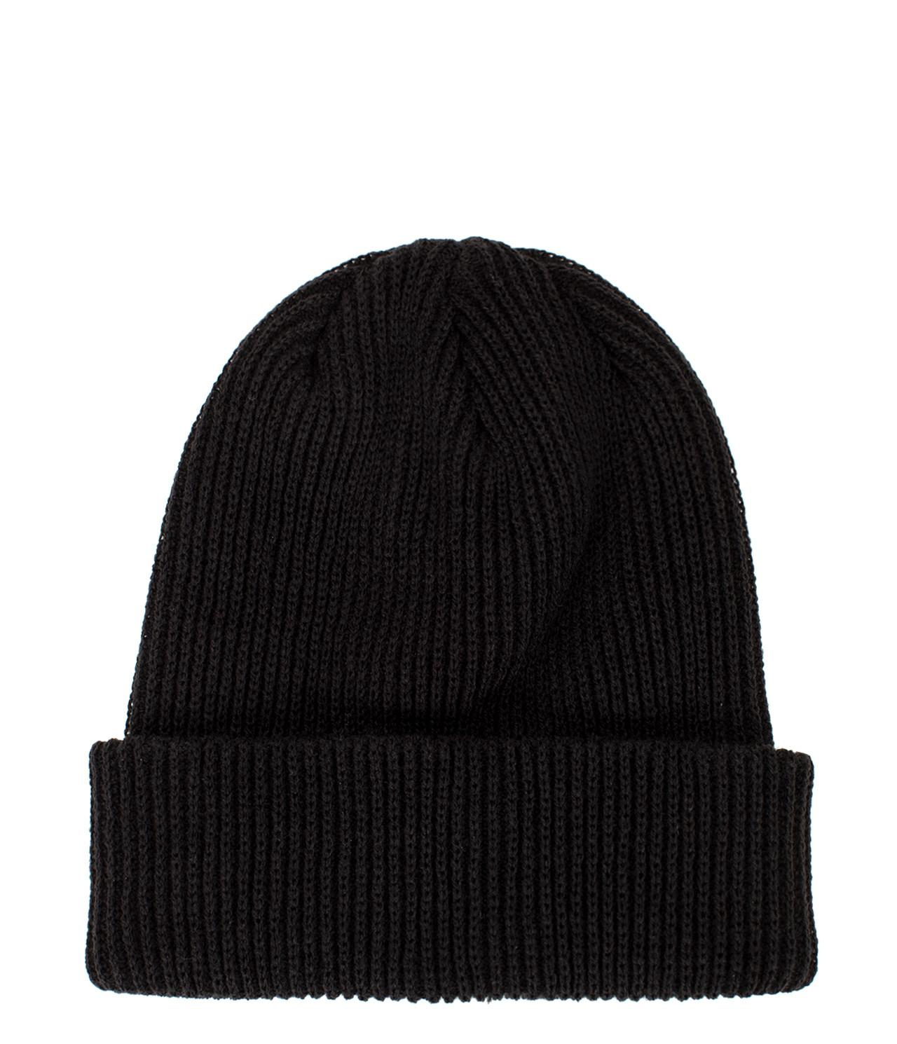 8539444b80e Stussy - Black Small Patch Watchcap Beanie for Men - Lyst. View fullscreen
