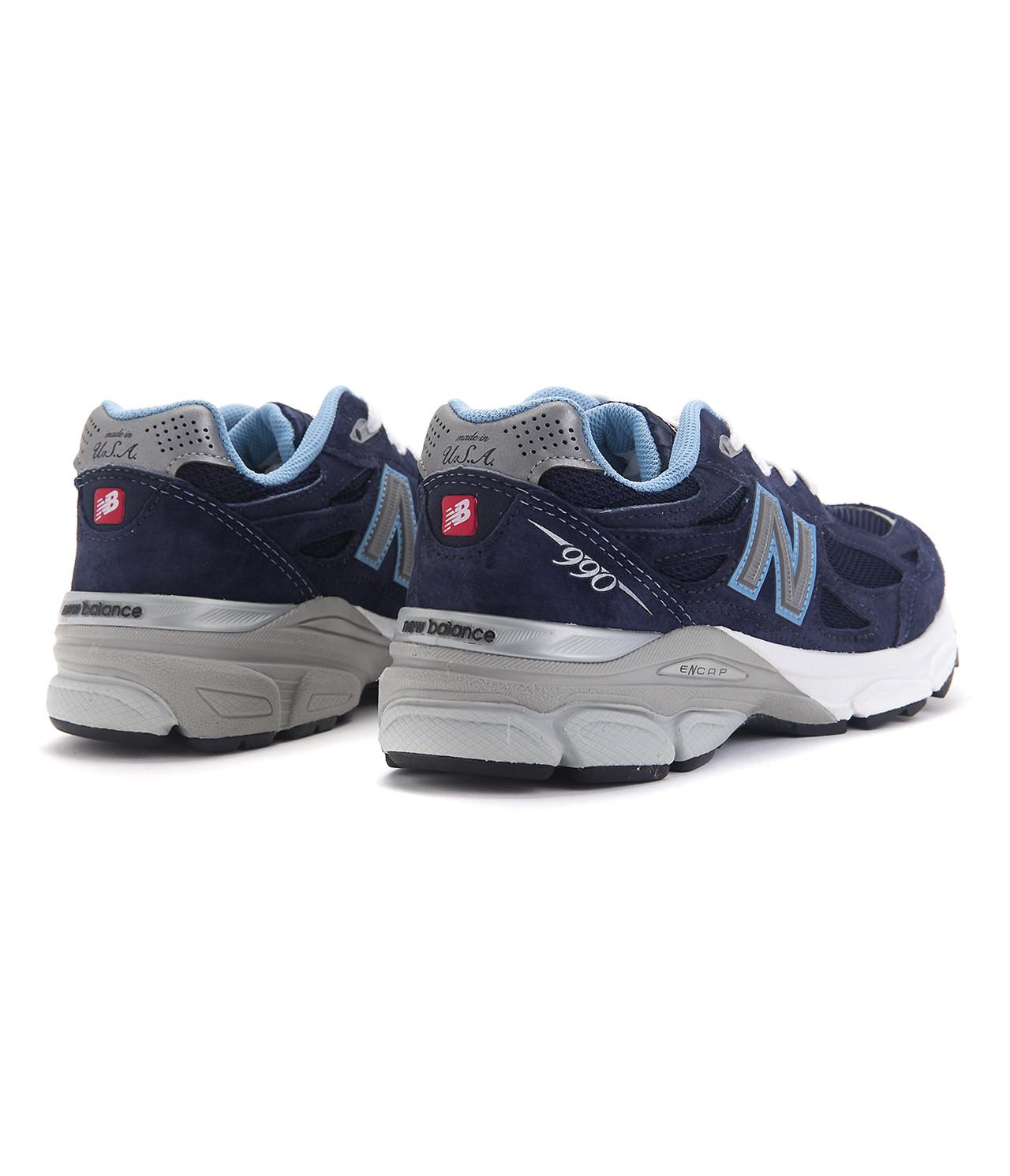 the best attitude 1c959 22219 Lyst - New Balance W990nv3 in Blue