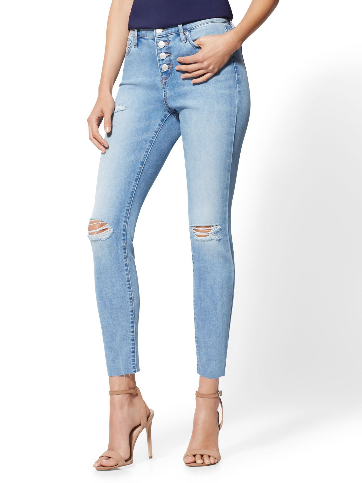 947460b58de New York   Company. Women s Blue Soho Jeans - Ny c Runway - High-waist  Ankle Legging