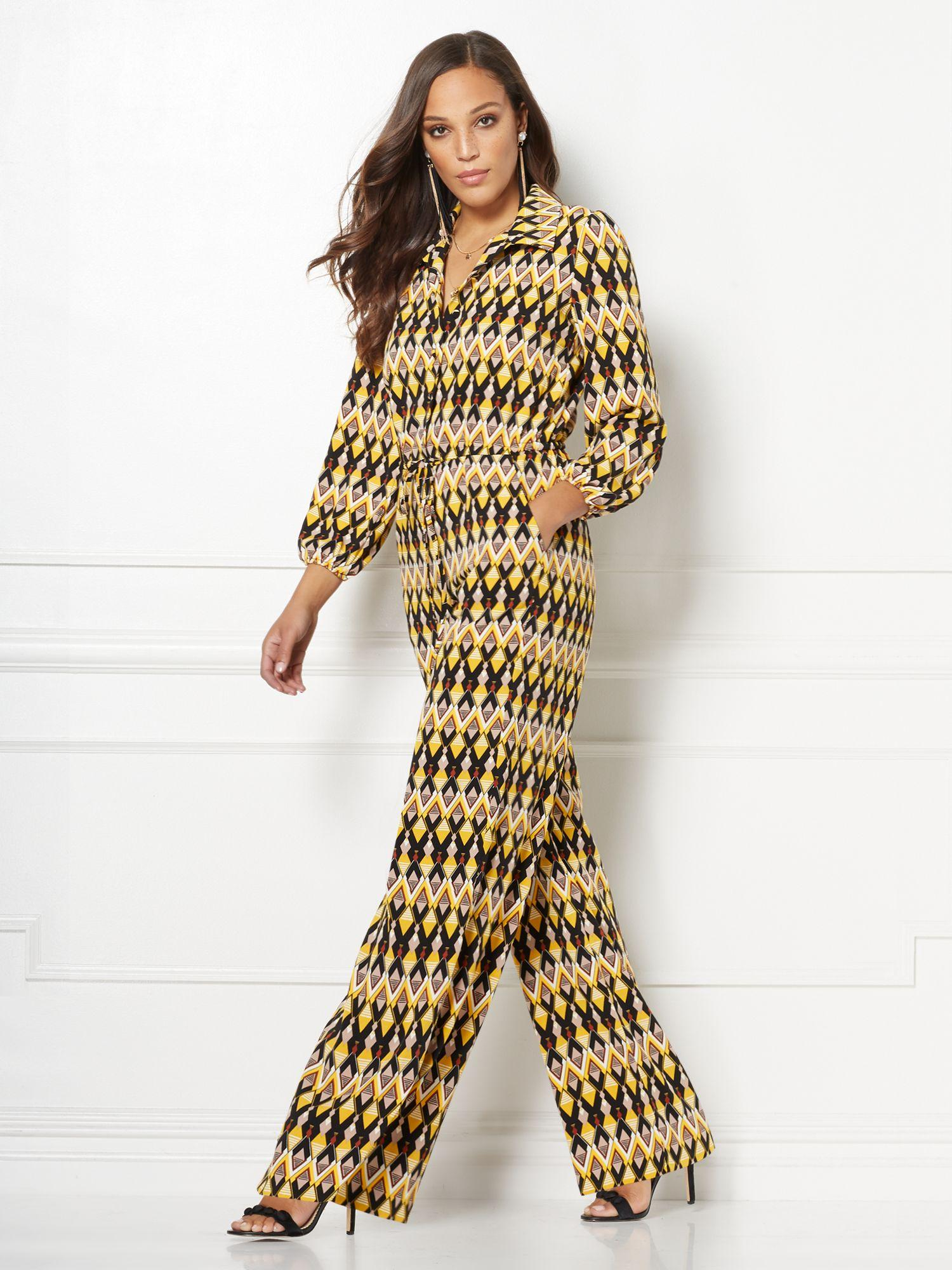 f2bc7a57 New York & Company Natasha Jumpsuit - Eva Mendes Collection in ...