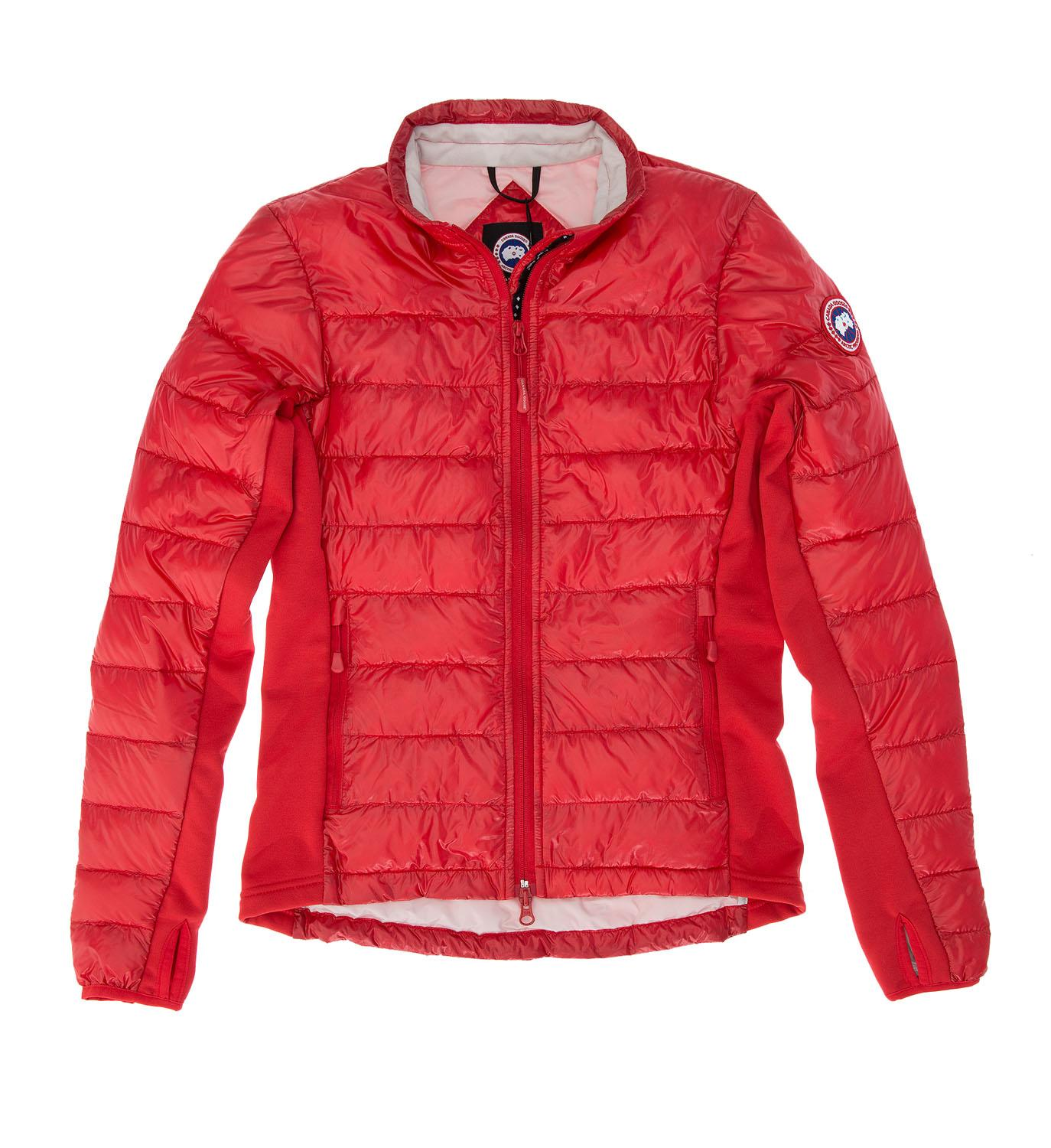 Canada goose Women's Hybridge Lite Jacket in Red | Lyst - photo#17