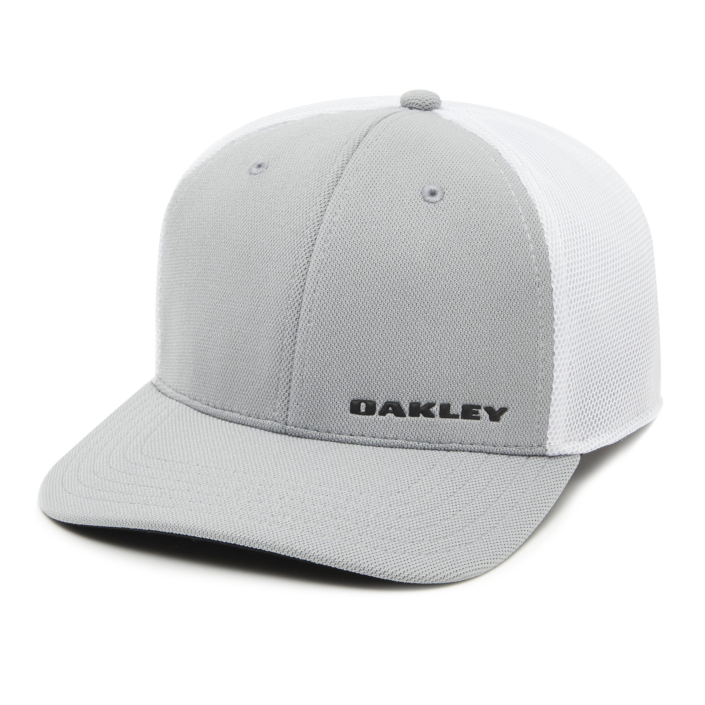 894dcf7cfcc Lyst - Oakley Silicon Bark Trucker 4.0 Golf Hat in Gray for Men