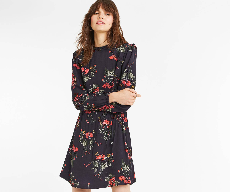 765e671dcf Oasis Floral Pie Crust Dress in Blue - Lyst