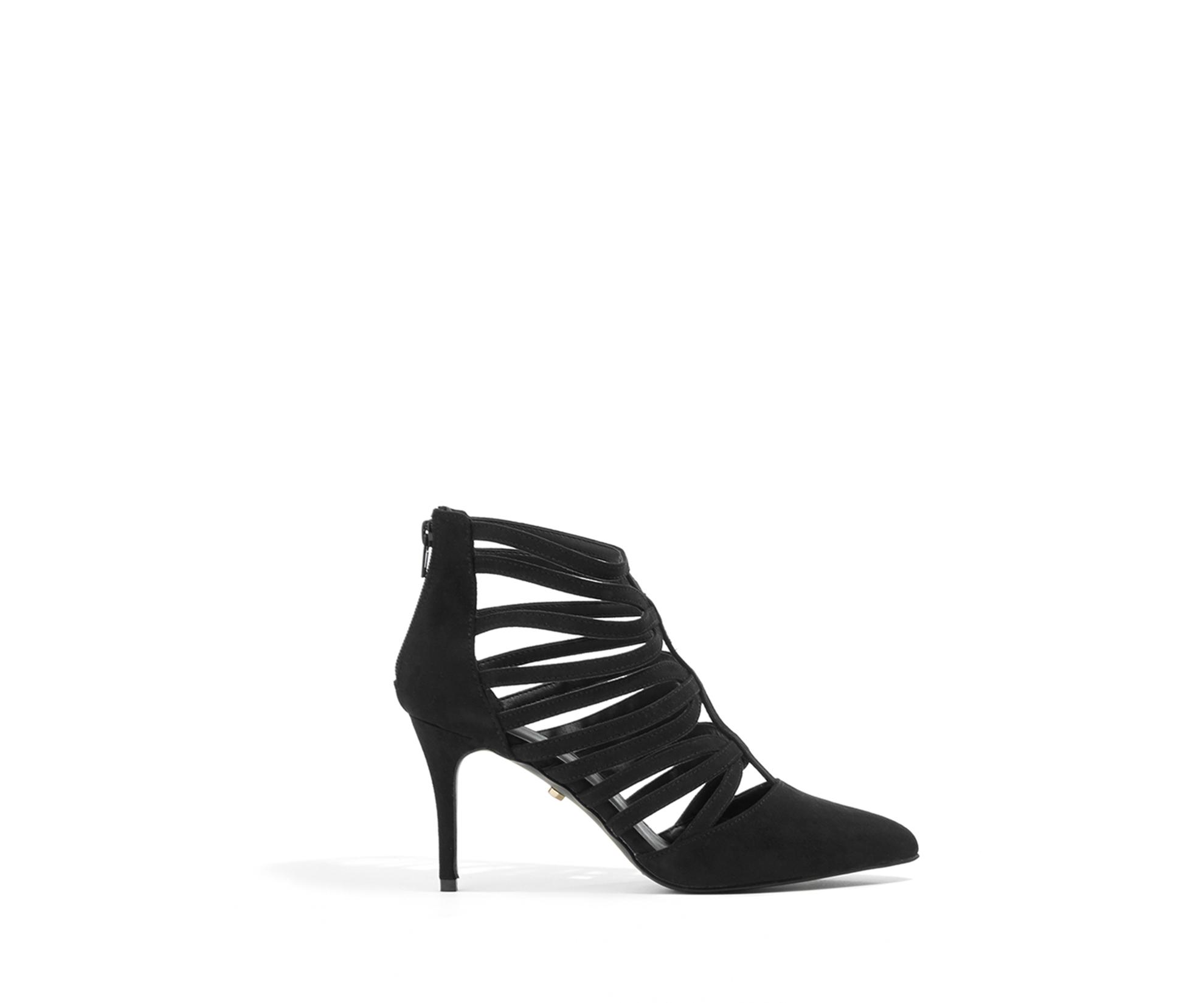 ff9d06a95d0 Lyst - Oasis Carla Caged Shoe in Black