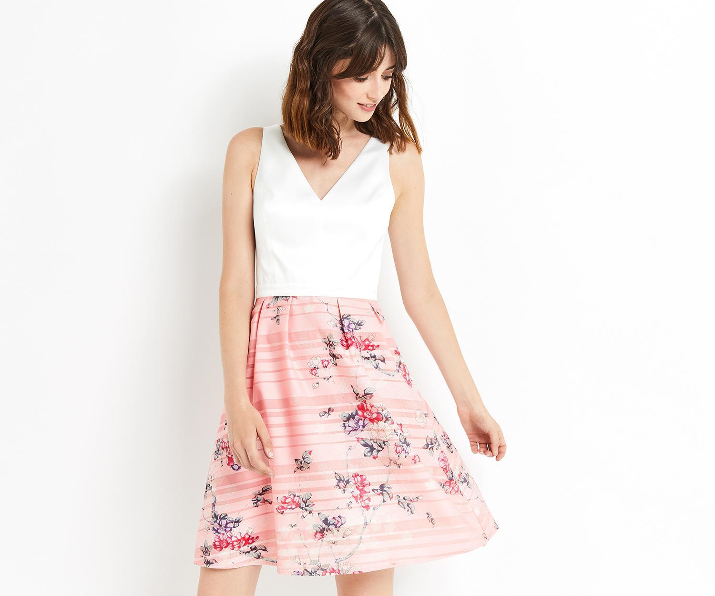 284d0f368e8 Lyst - Oasis Kimono Dip Hem Midi Dress in Pink