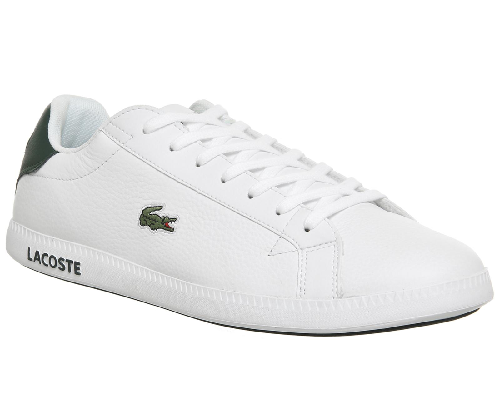 2050d2984ad Lyst - Lacoste Graduate Trainers in White for Men
