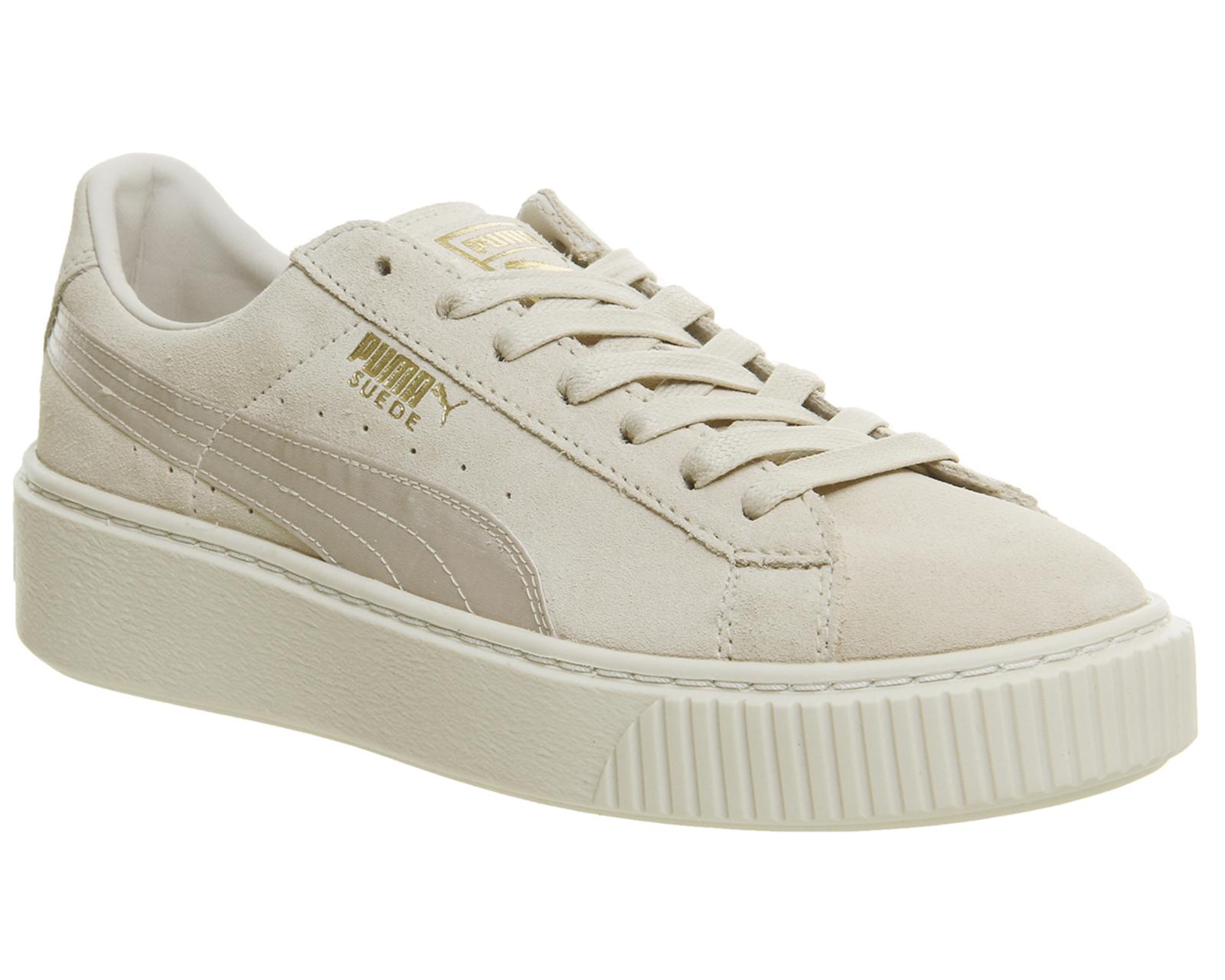 arrives 3095a 56485 Lyst - PUMA Suede Platform Trainers in Pink