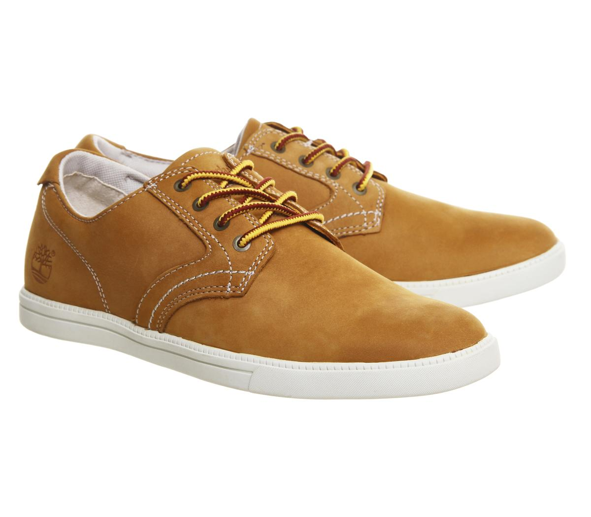 Timberland Fulk Oxford Shoes in Orange for Men