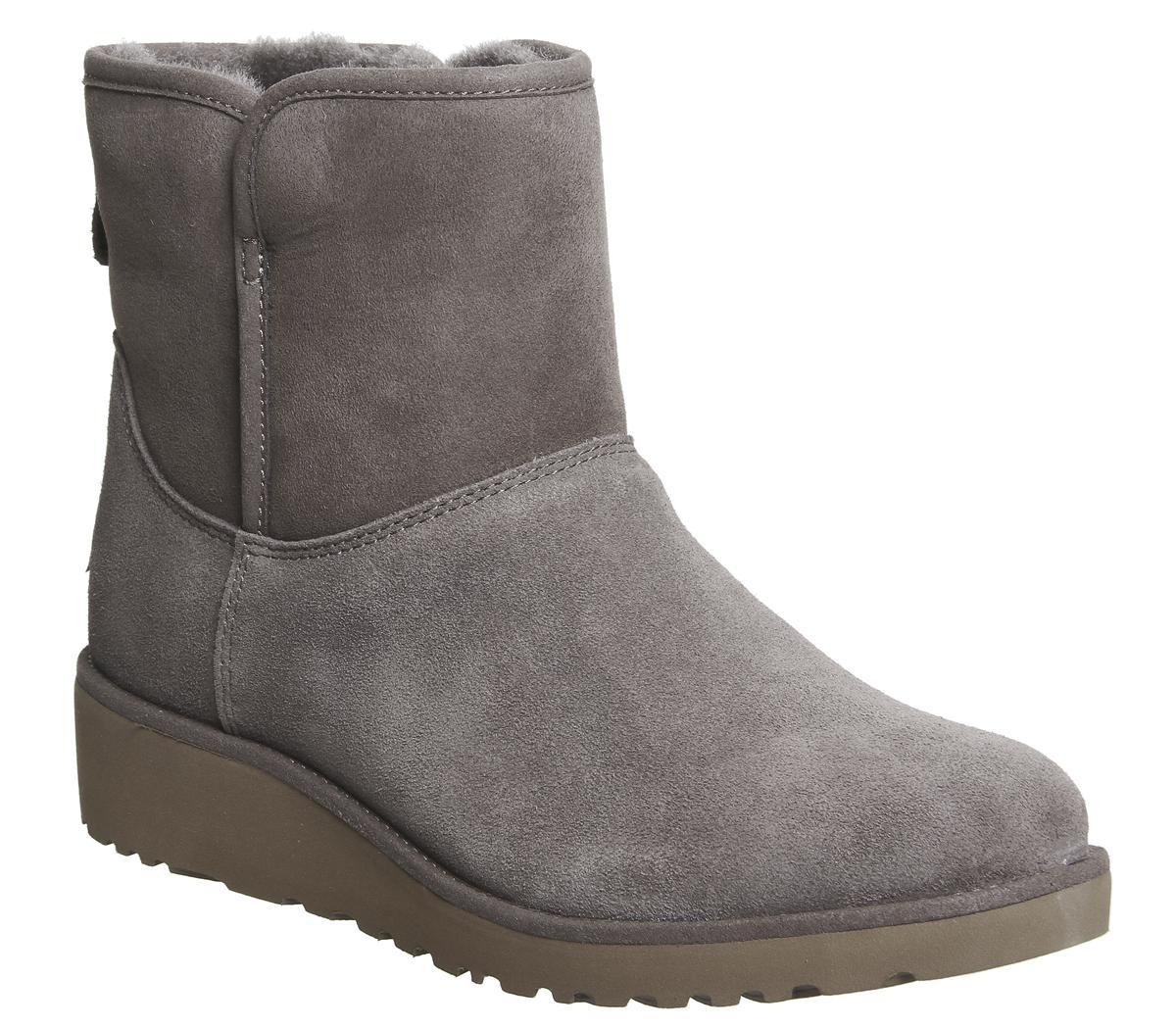 34a7175c28ad Lyst - UGG Classic Slim Kristin Mini Boots in Gray